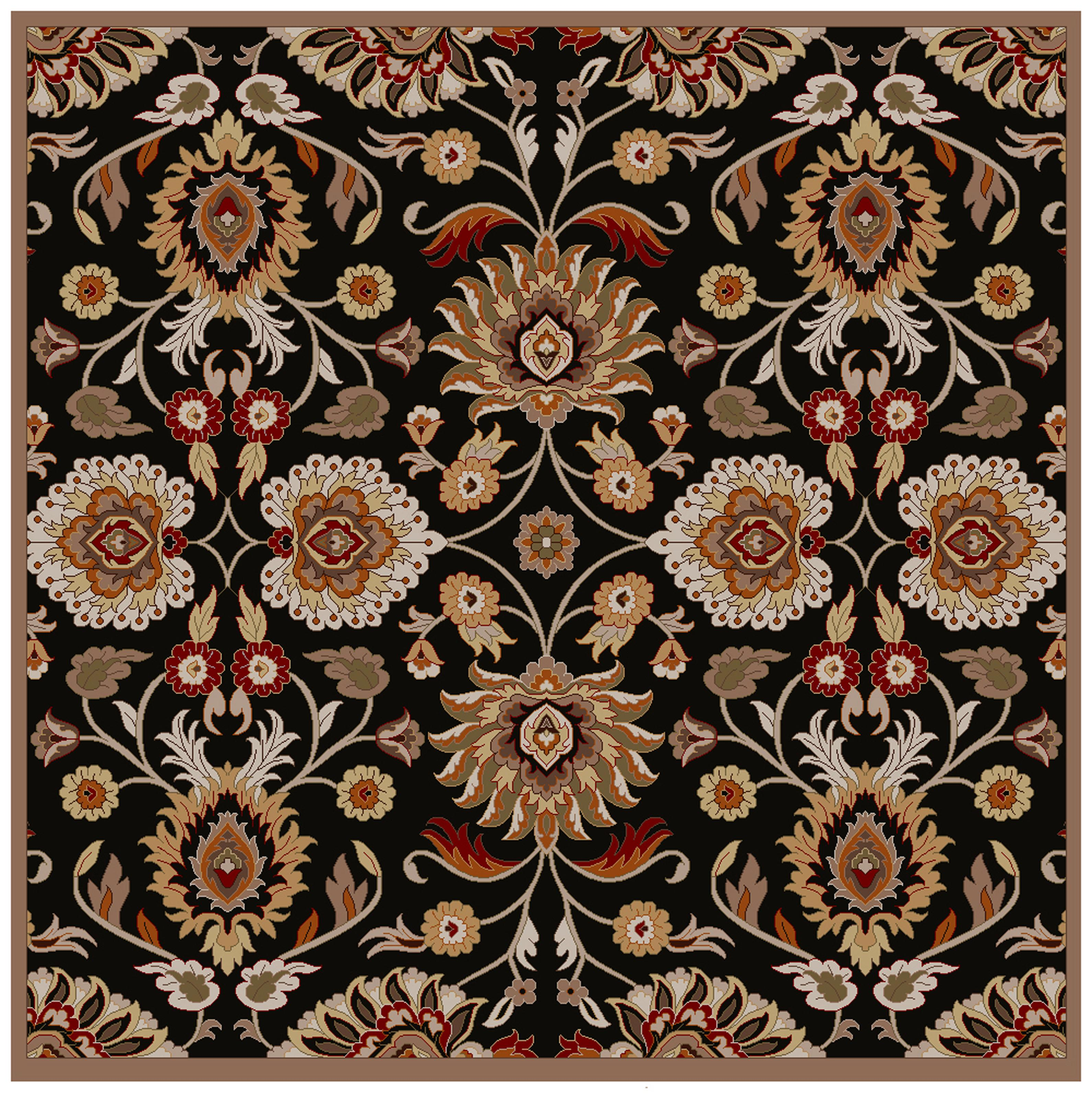Surya Caesar 6' Square - Item Number: CAE1053-6SQ