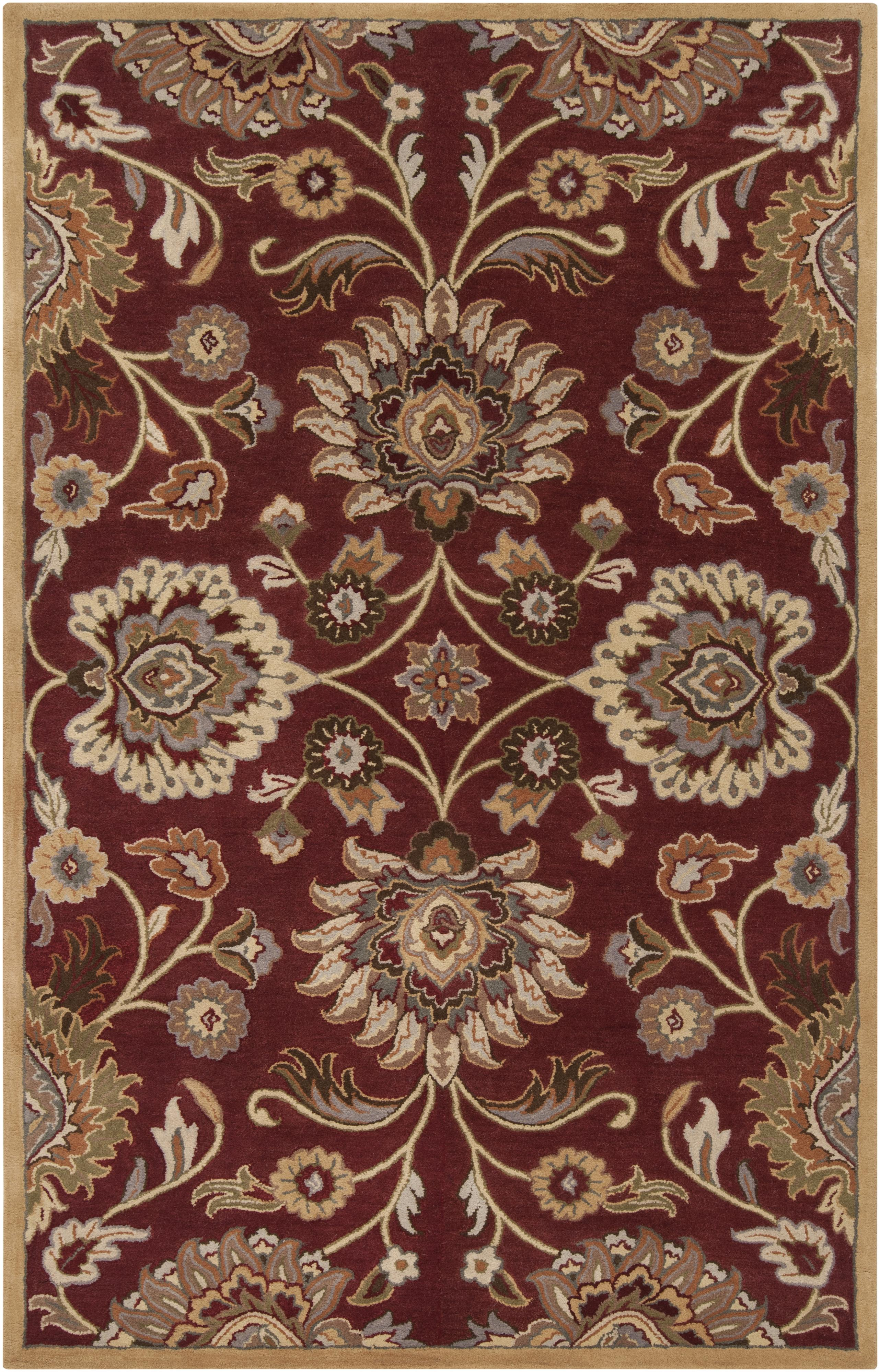 Surya Caesar 8' Square - Item Number: CAE1061-8SQ