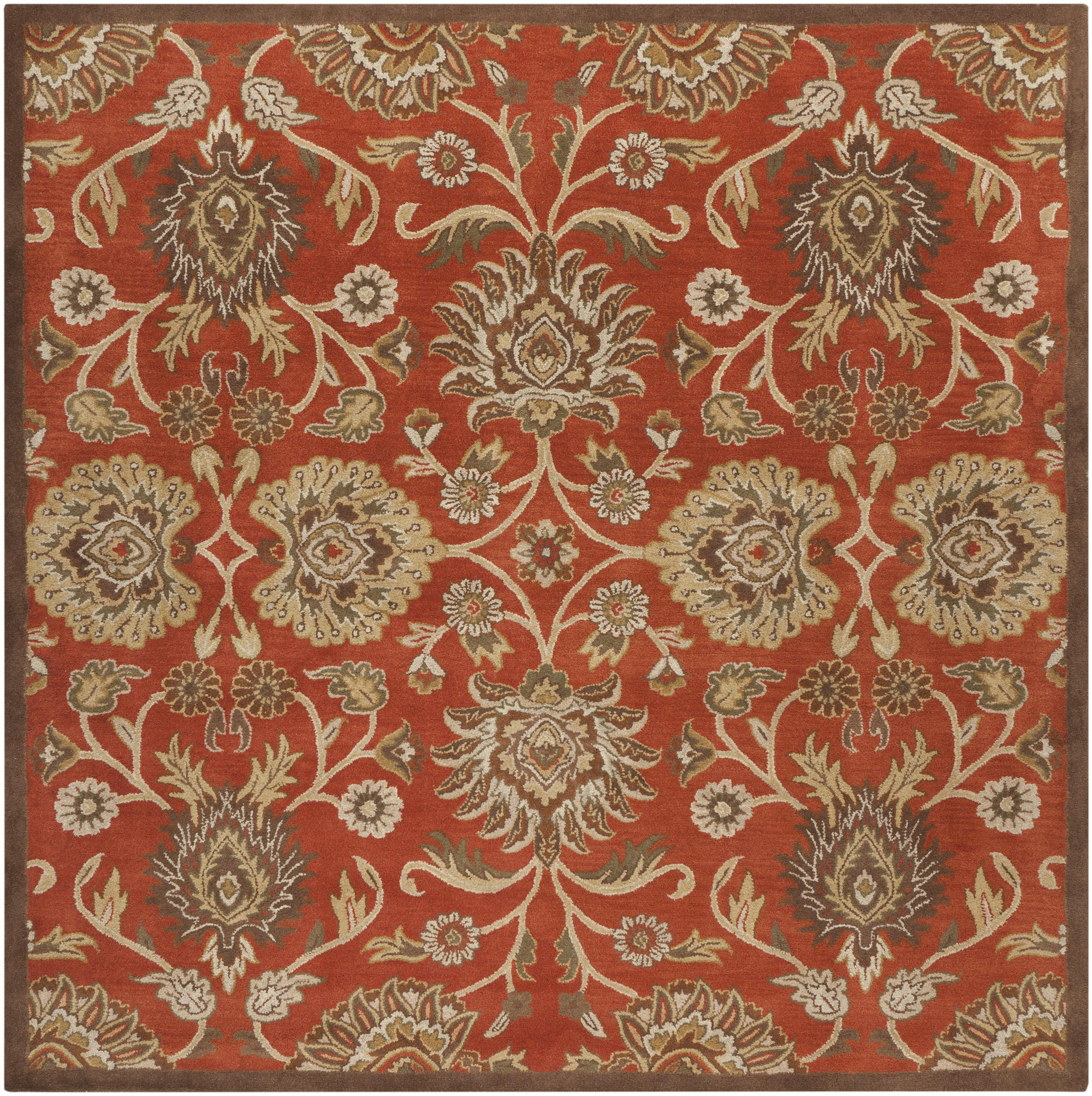 Surya Caesar 4' Square - Item Number: CAE1062-4SQ