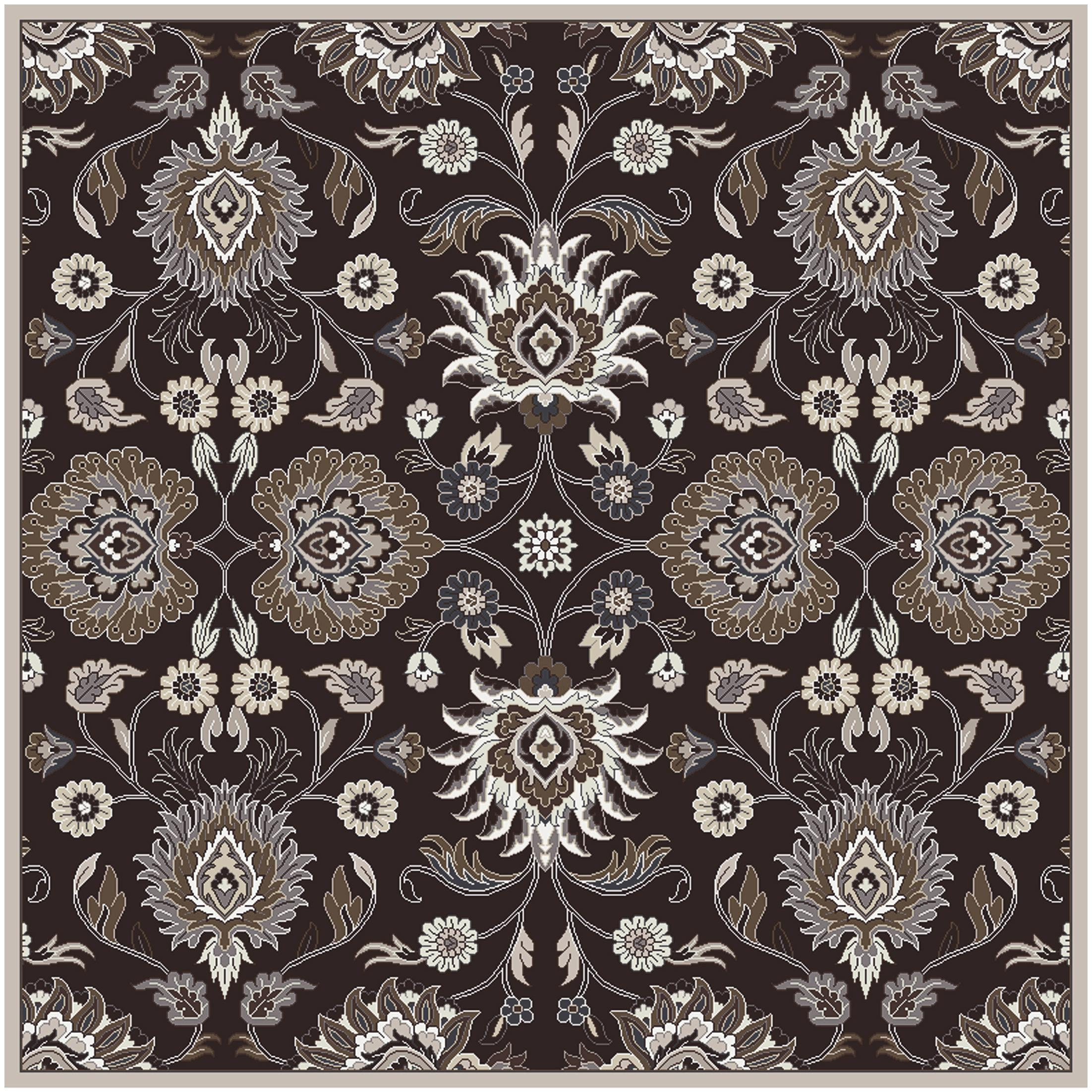 Surya Rugs Caesar 8' Square - Item Number: CAE1063-8SQ