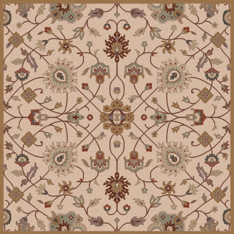 Surya Caesar 4' Square - Item Number: CAE1081-4SQ