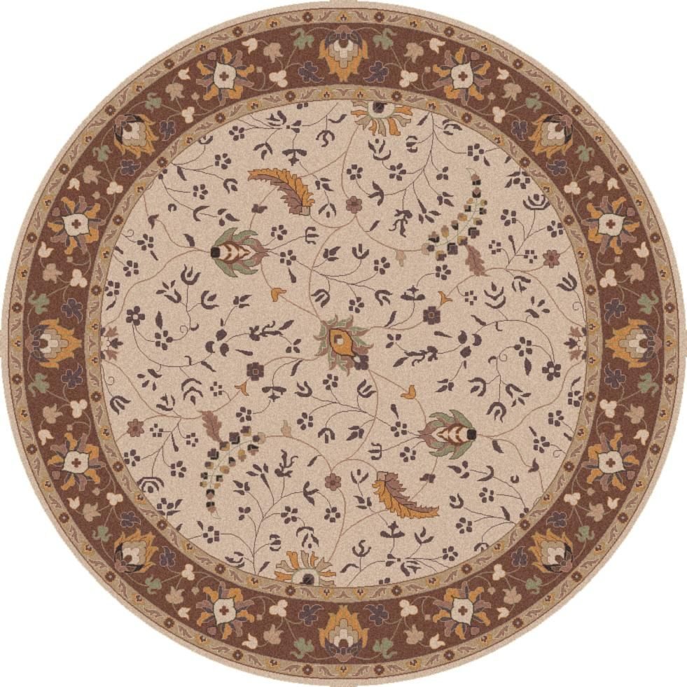 Surya Caesar 4' Round - Item Number: CAE1082-4RD