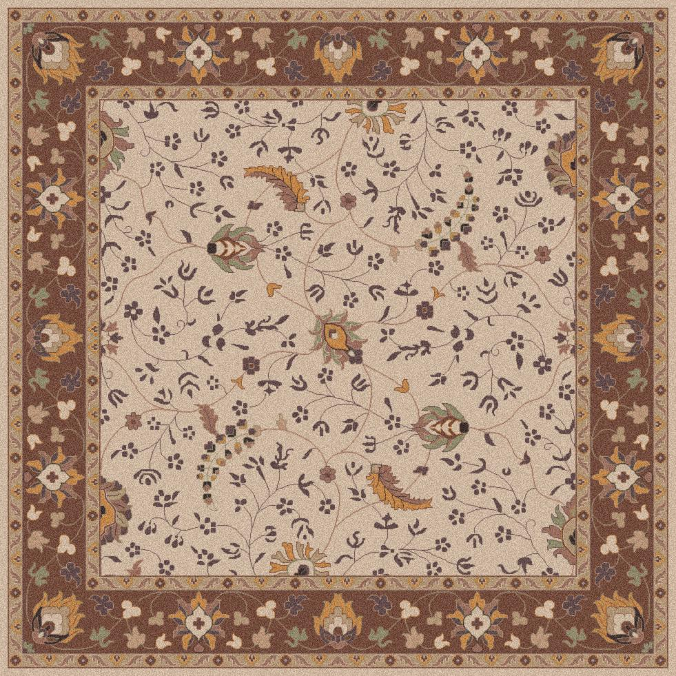 Surya Caesar 4' Square - Item Number: CAE1082-4SQ