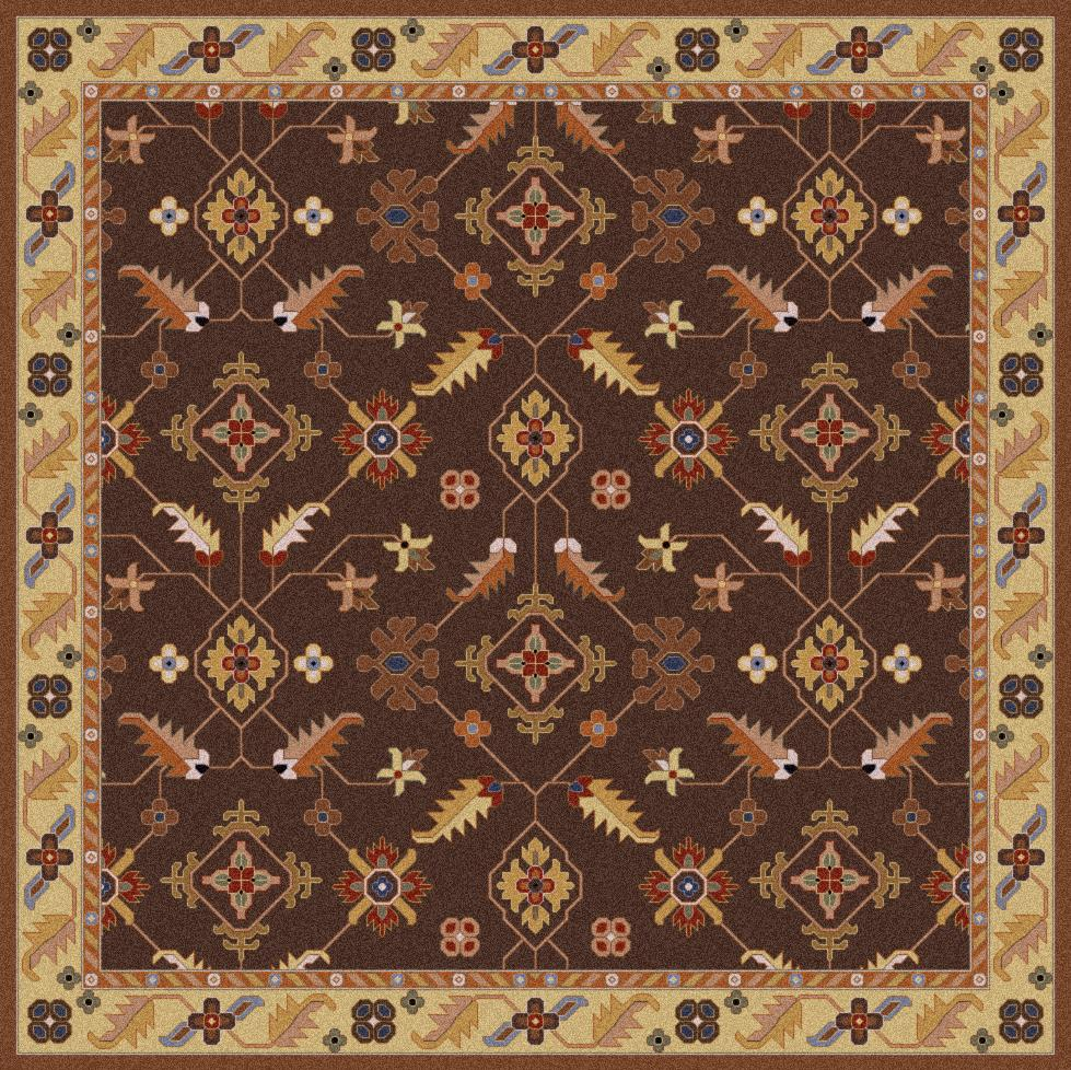 Surya Caesar 4' Square - Item Number: CAE1083-4SQ