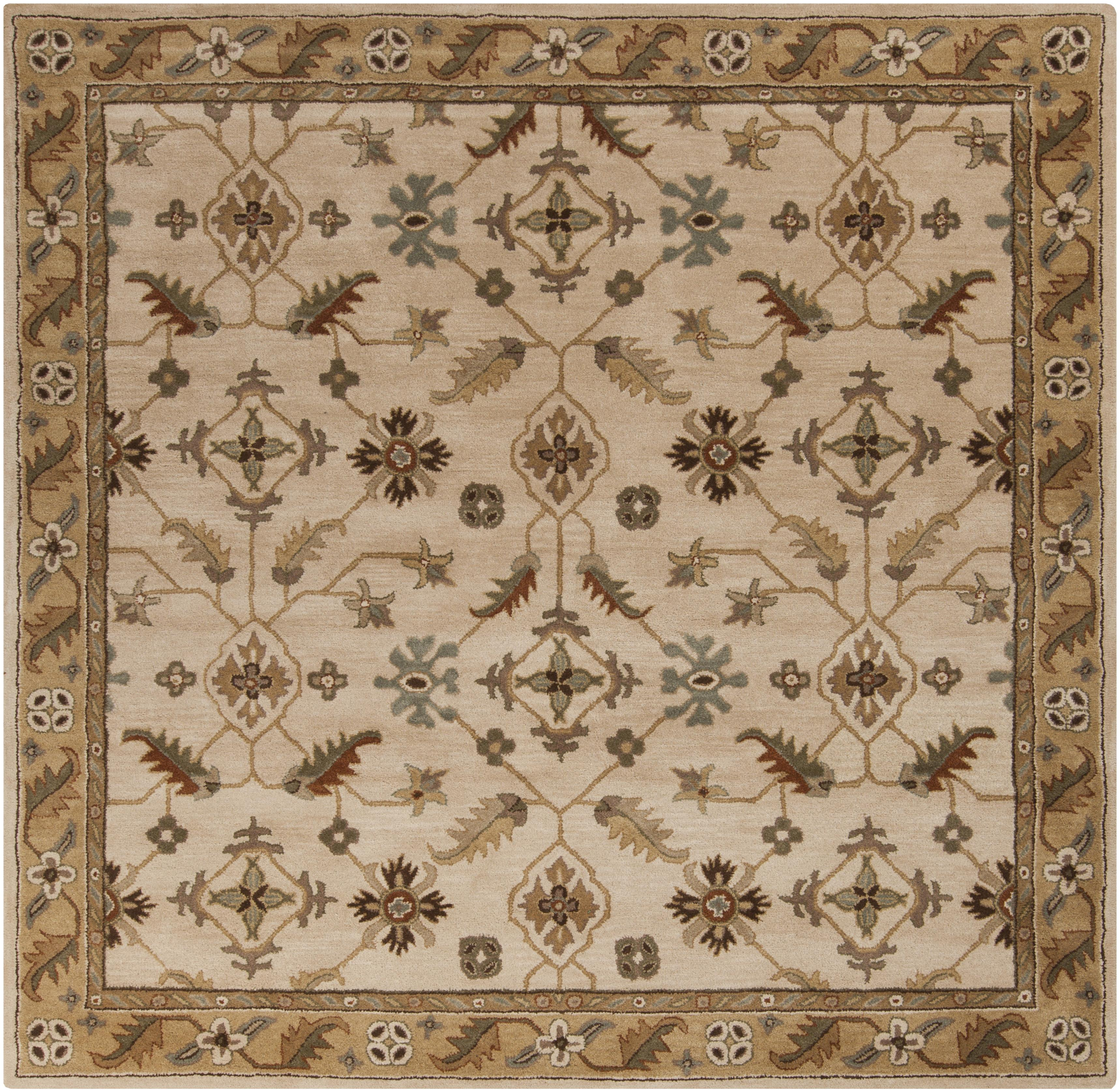 Surya Caesar 8' Square - Item Number: CAE1084-8SQ