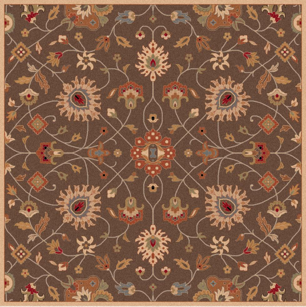 Surya Caesar 6' Square - Item Number: CAE1086-6SQ