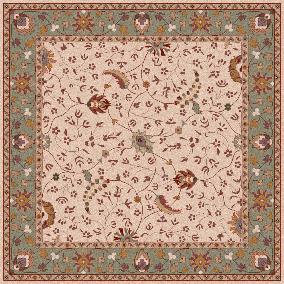 Surya Caesar 4' Square - Item Number: CAE1088-4SQ