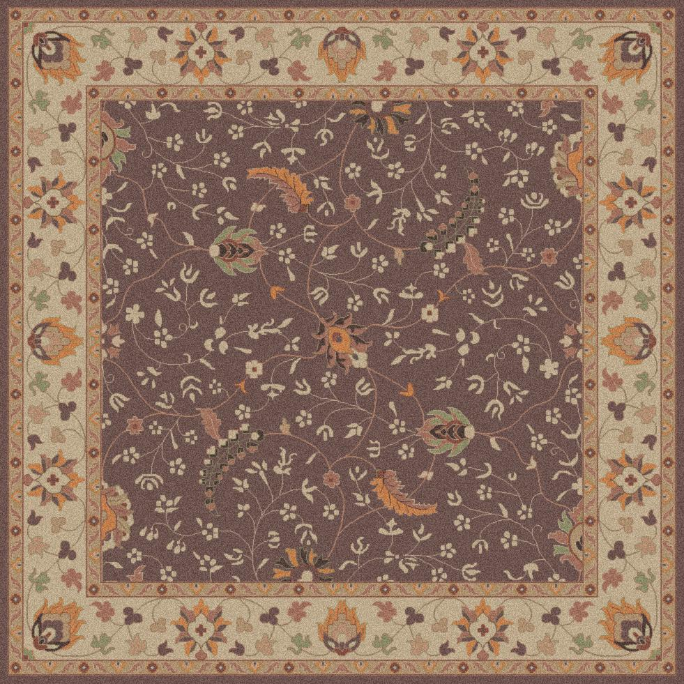 Surya Rugs Caesar 4' Square - Item Number: CAE1093-4SQ