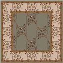 Surya Rugs Caesar 6' Square - Item Number: CAE1100-6SQ