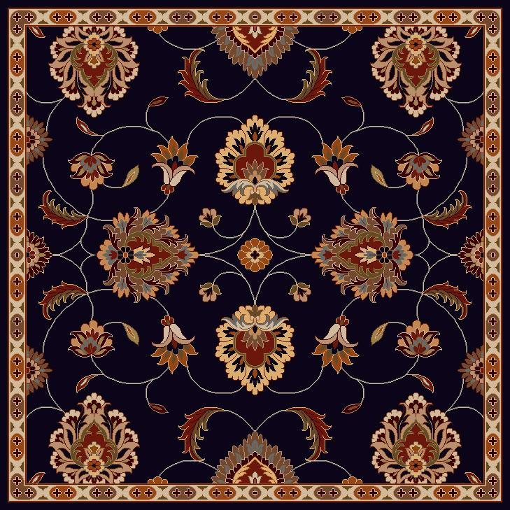 Surya Rugs Caesar 6' Square - Item Number: CAE1102-6SQ