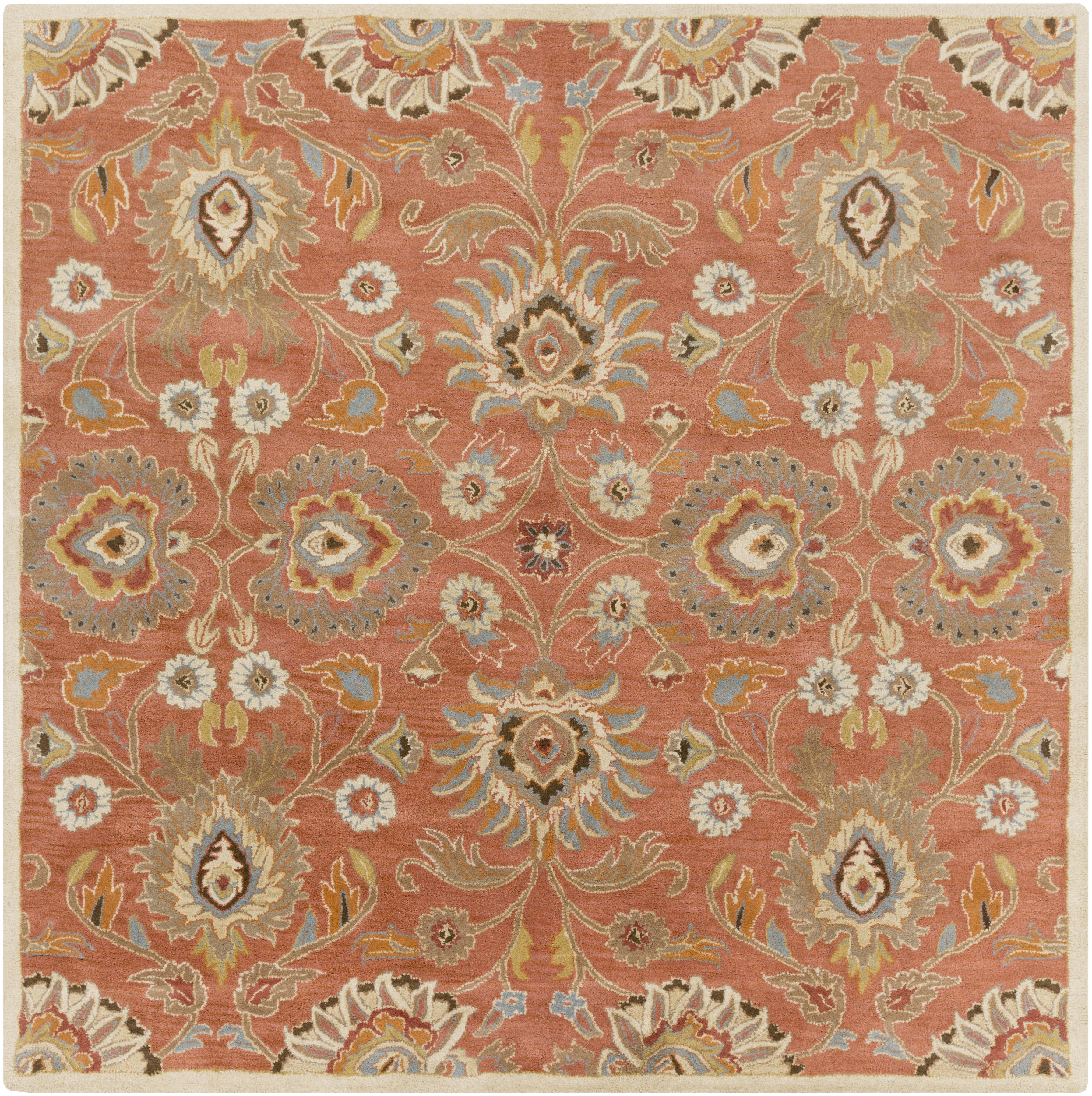 Surya Caesar 4' Square - Item Number: CAE1107-4SQ