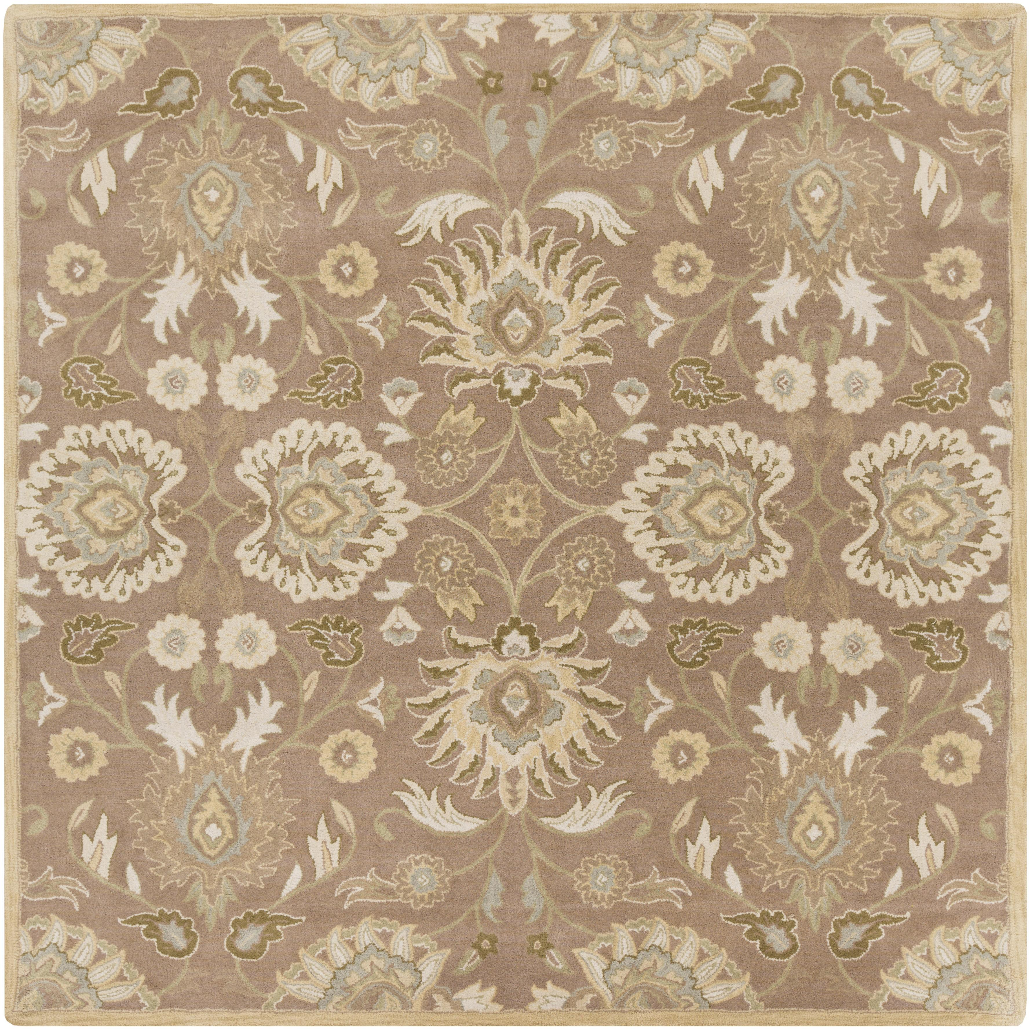 Surya Caesar 4' Square - Item Number: CAE1108-4SQ