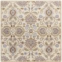 Surya Rugs Caesar 4' Square - Item Number: CAE1109-4SQ