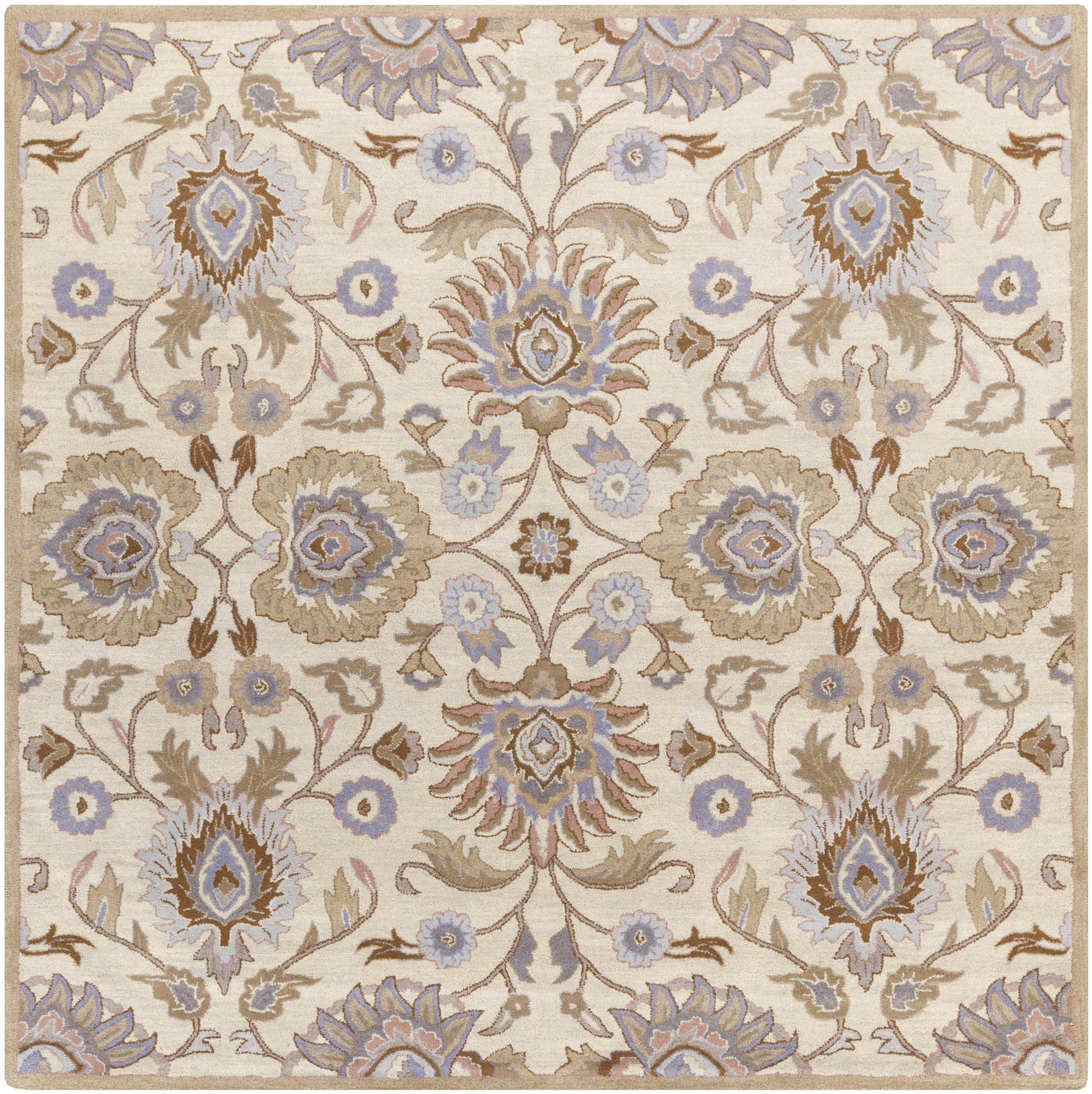 Surya Caesar 8' Square - Item Number: CAE1109-8SQ