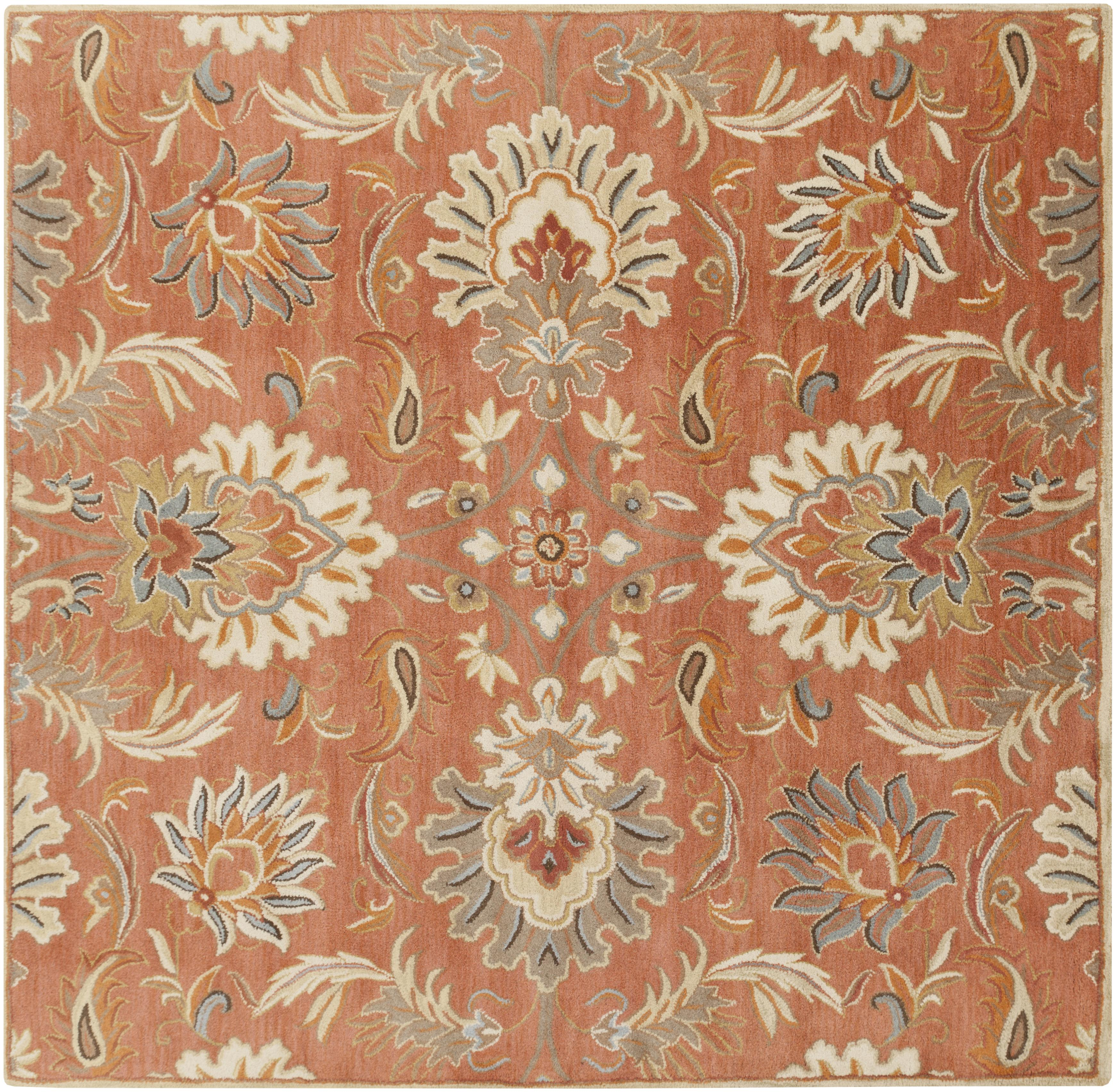 Surya Rugs Caesar 8' Square - Item Number: CAE1112-8SQ