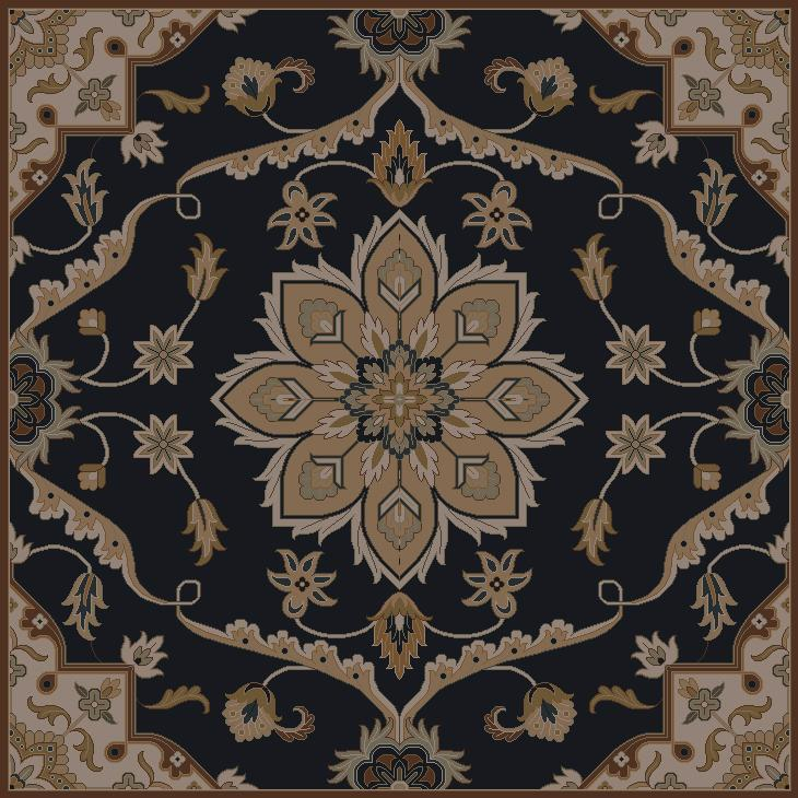 Surya Caesar 8' Square - Item Number: CAE1113-8SQ