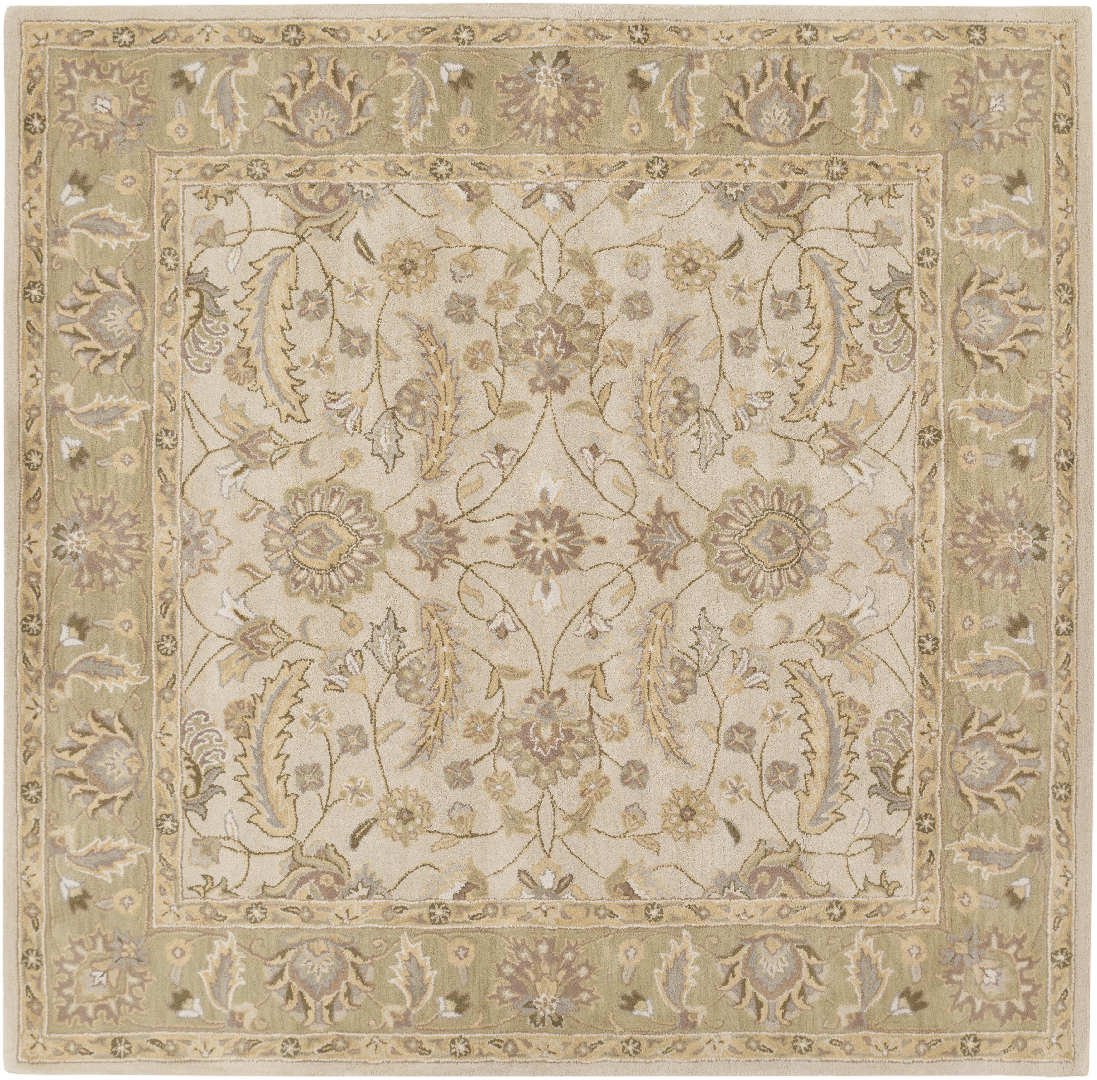 Surya Caesar 4' Square - Item Number: CAE1114-4SQ
