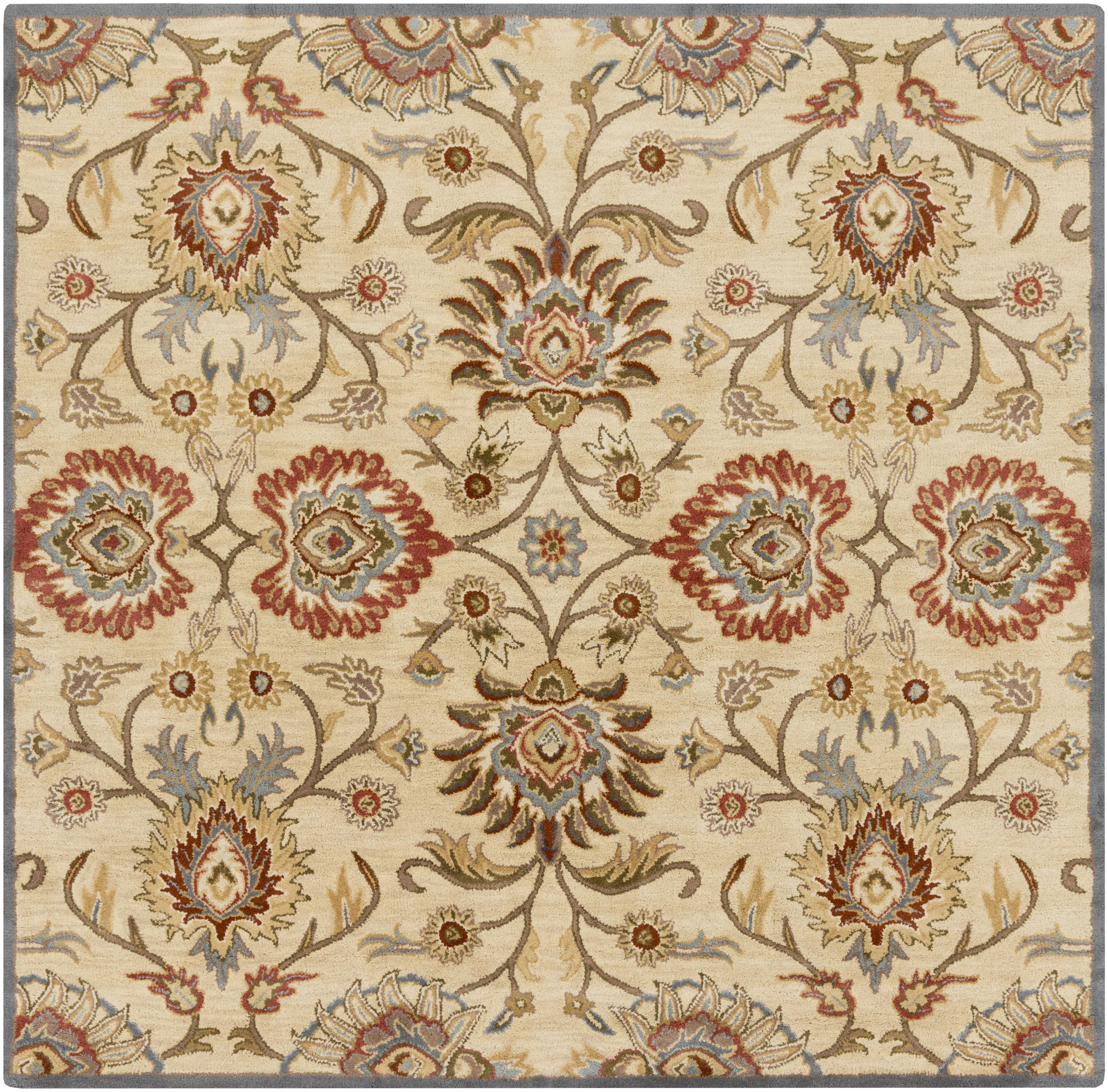 "Surya Caesar 9'9"" Square - Item Number: CAE1116-99SQ"