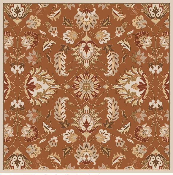 "Surya Rugs Caesar 9'9"" Square - Item Number: CAE1117-99SQ"