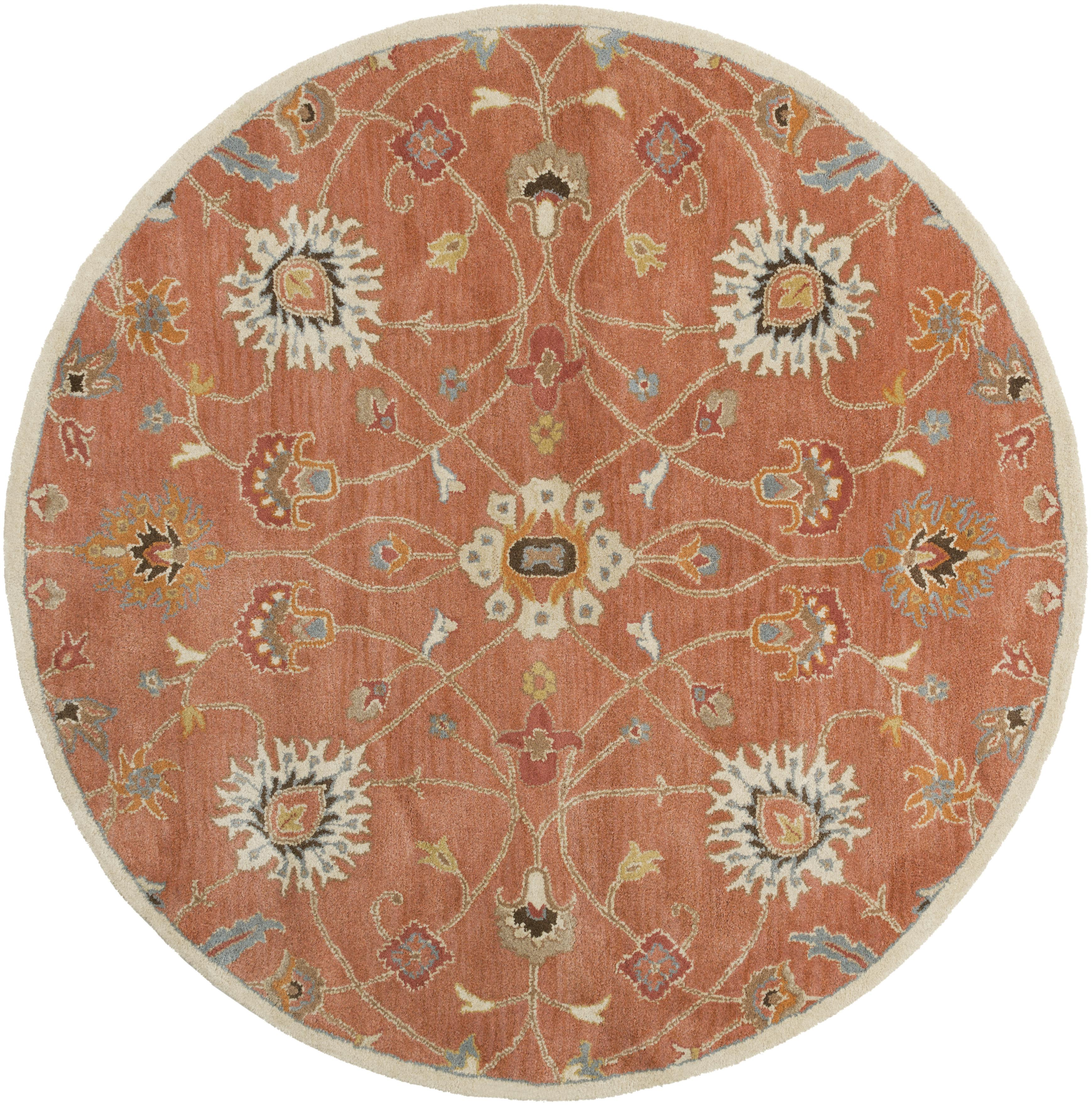Surya Caesar 8' Round - Item Number: CAE1119-8RD