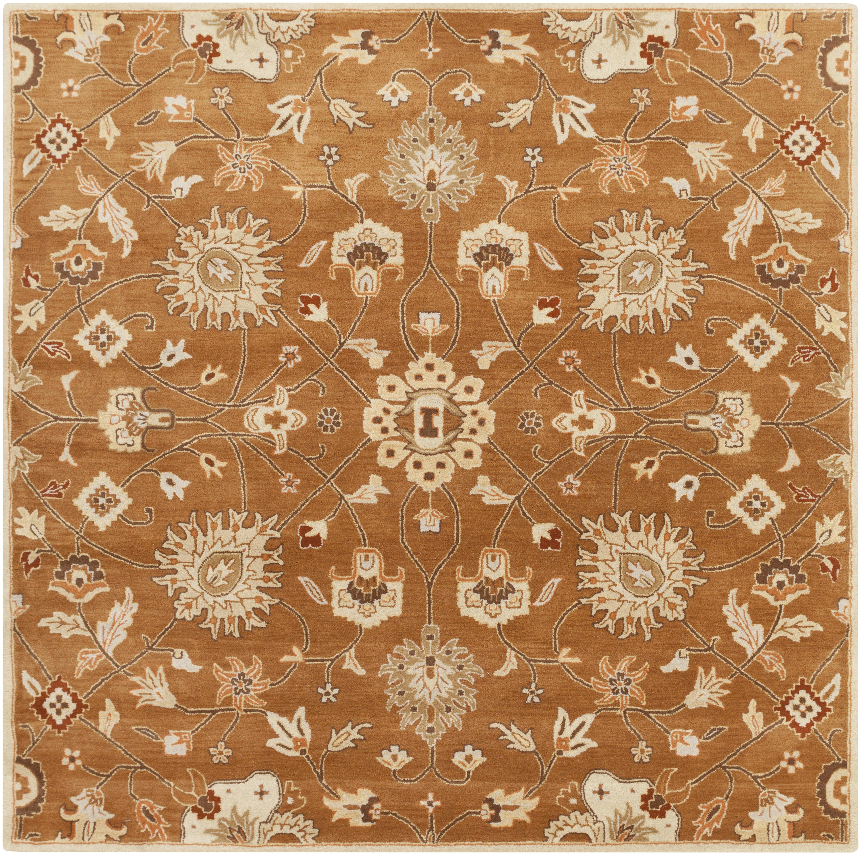 Surya Rugs Caesar 8' Square - Item Number: CAE1120-8SQ