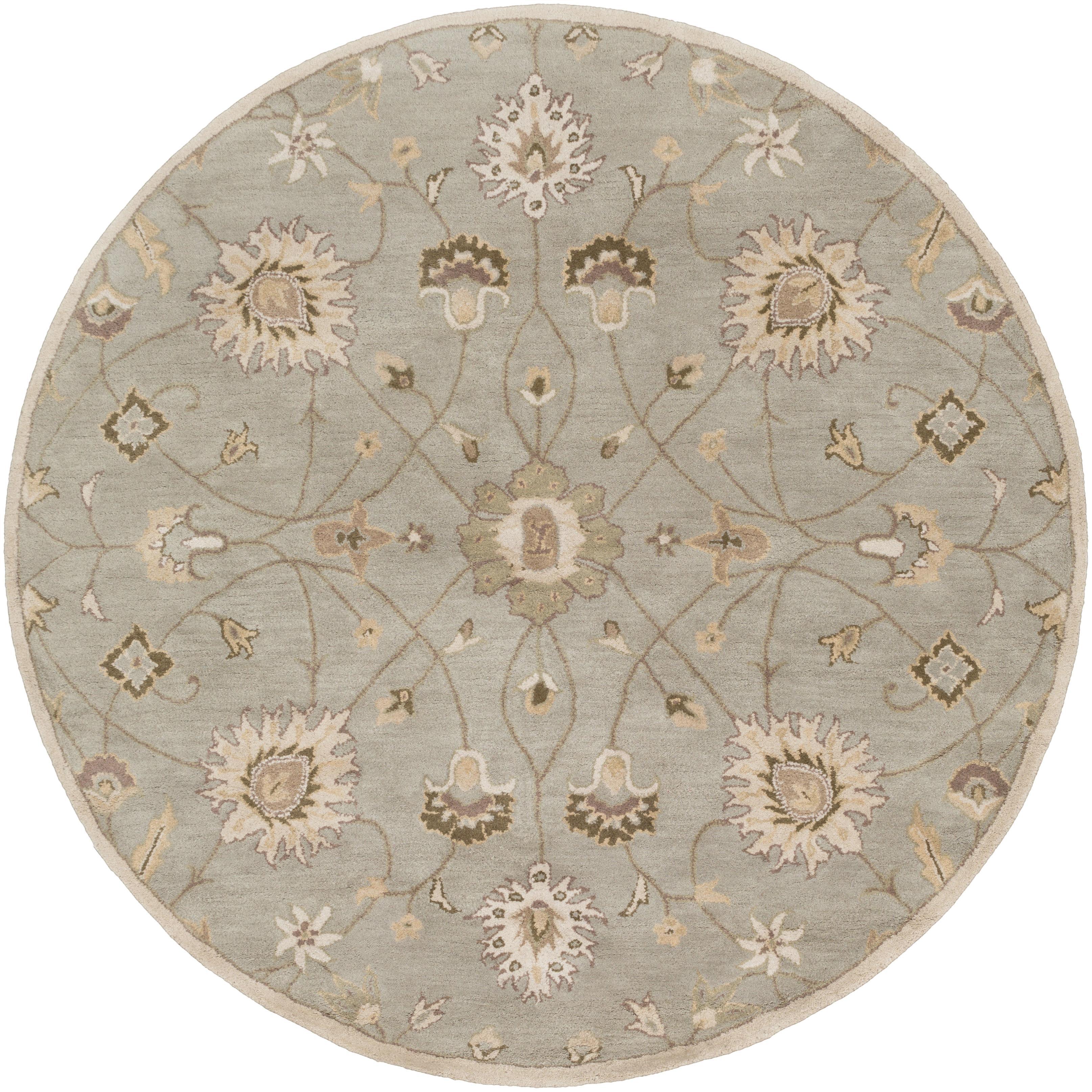 Surya Caesar 4' Round - Item Number: CAE1121-4RD