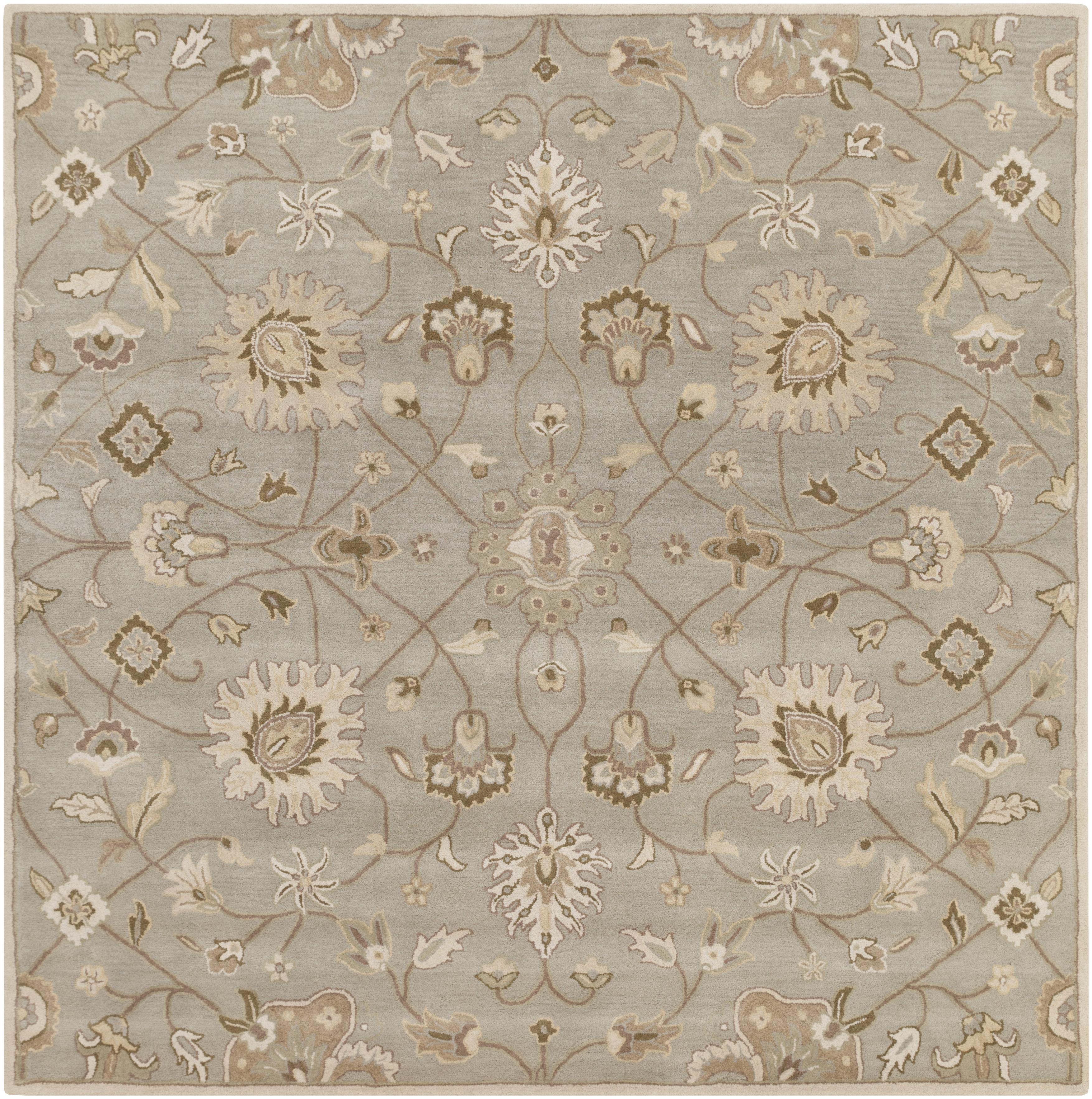 Surya Caesar 4' Square - Item Number: CAE1121-4SQ