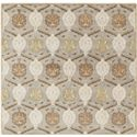 Surya Rugs Caesar 4' Square - Item Number: CAE1122-4SQ