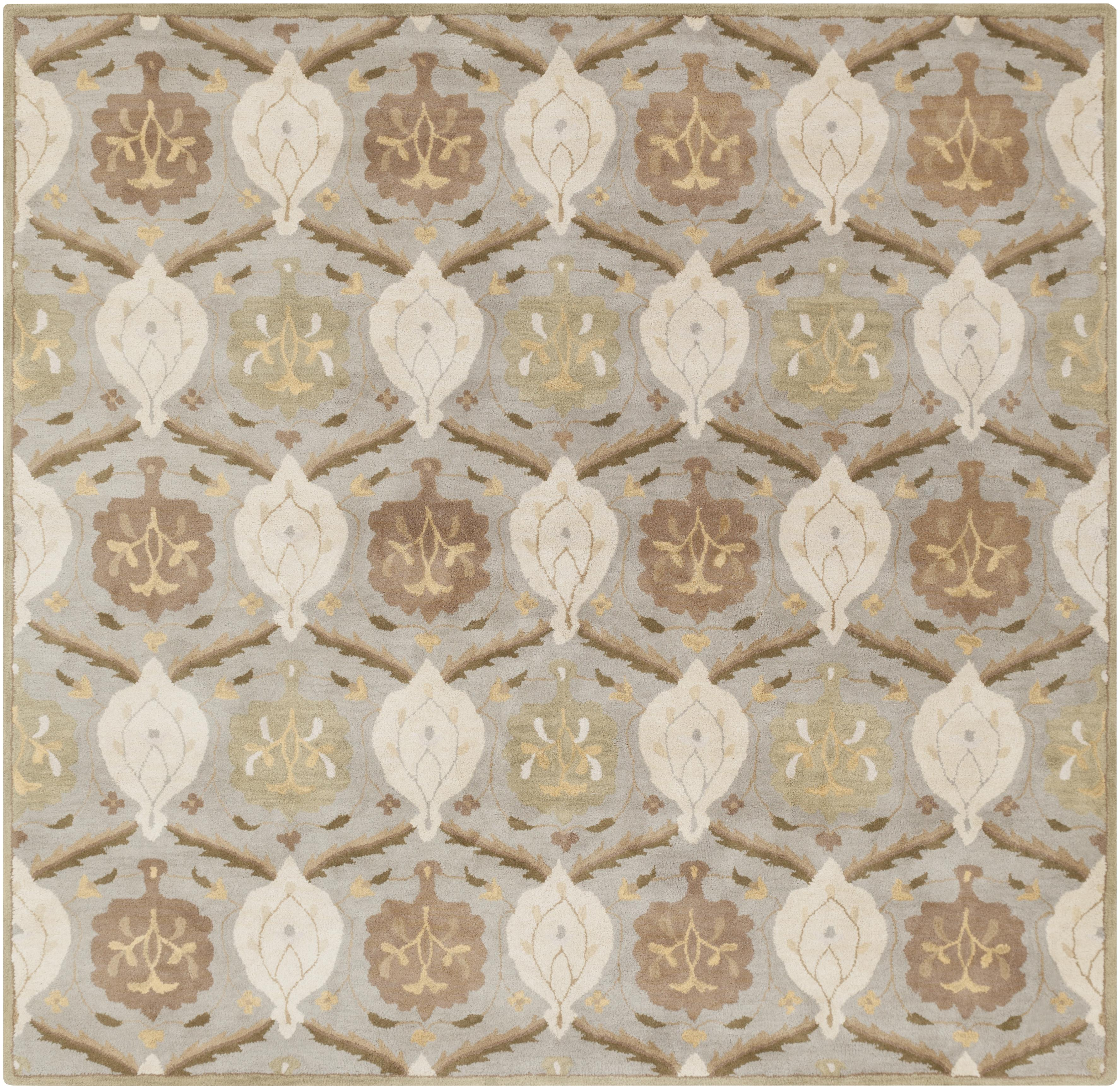 Surya Caesar 8' Square - Item Number: CAE1122-8SQ