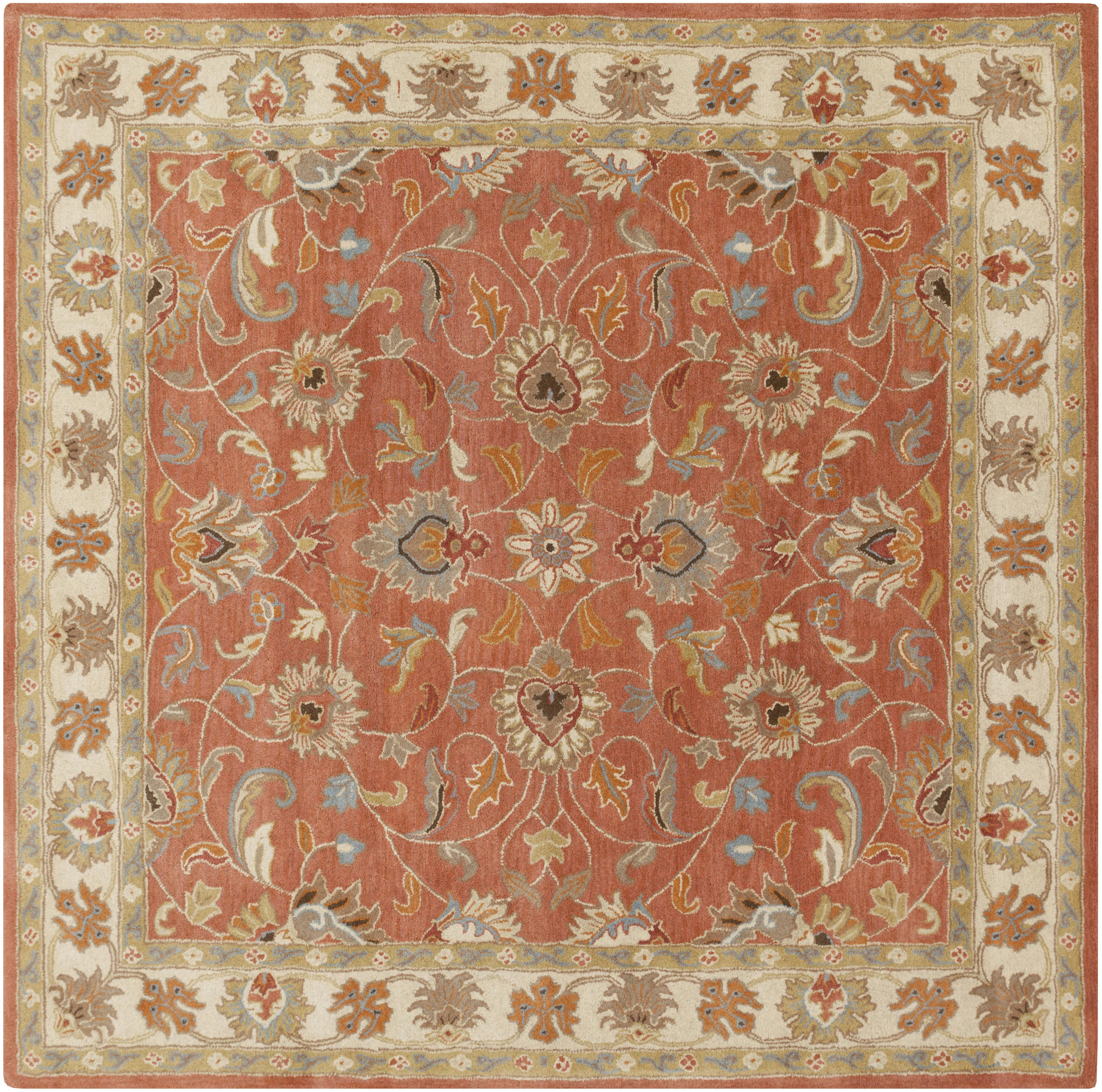 Surya Caesar 6' Square - Item Number: CAE1124-6SQ