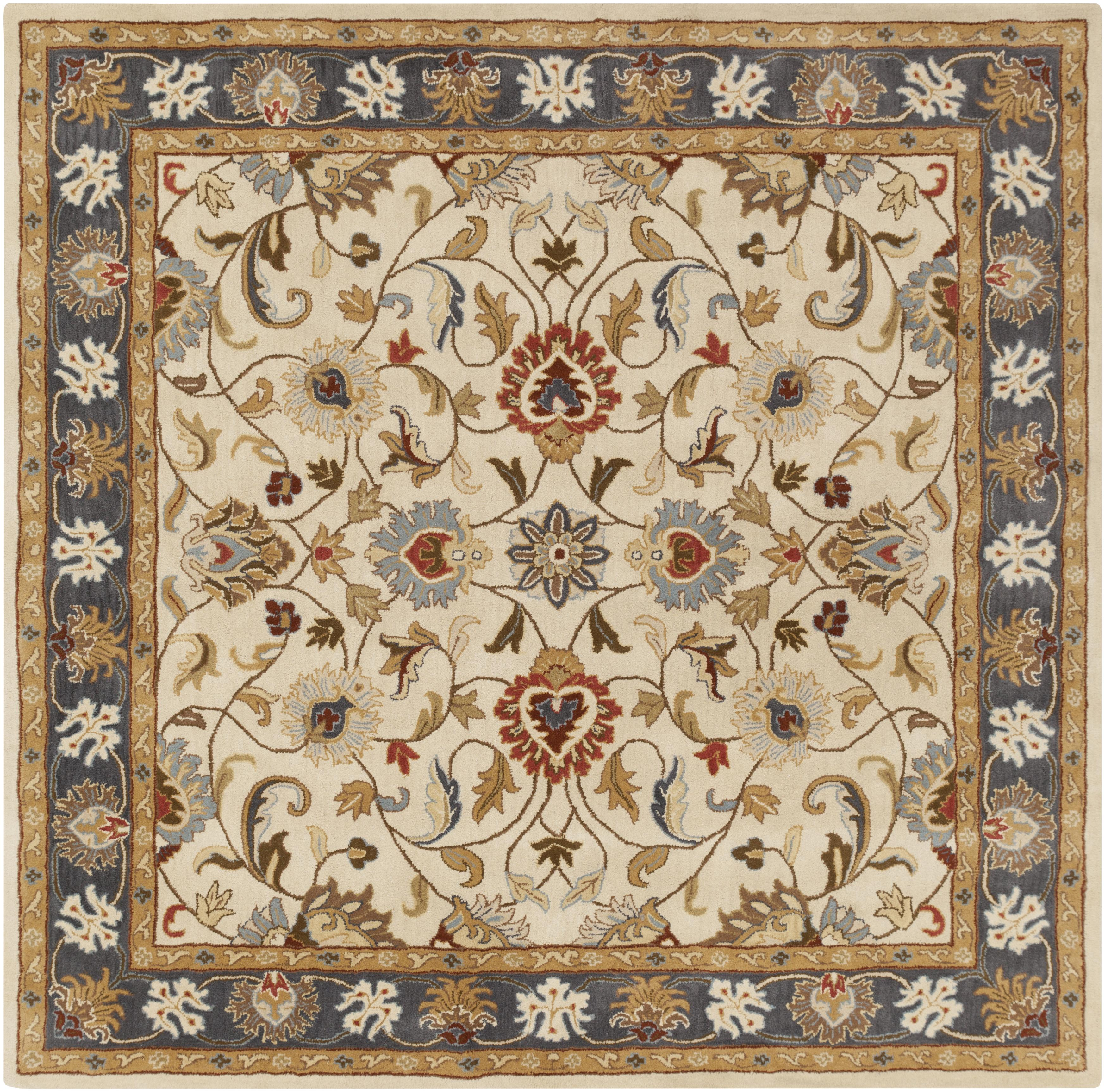 Surya Caesar 4' Square - Item Number: CAE1125-4SQ