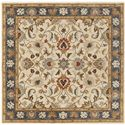 Surya Caesar 6' Square - Item Number: CAE1125-6SQ