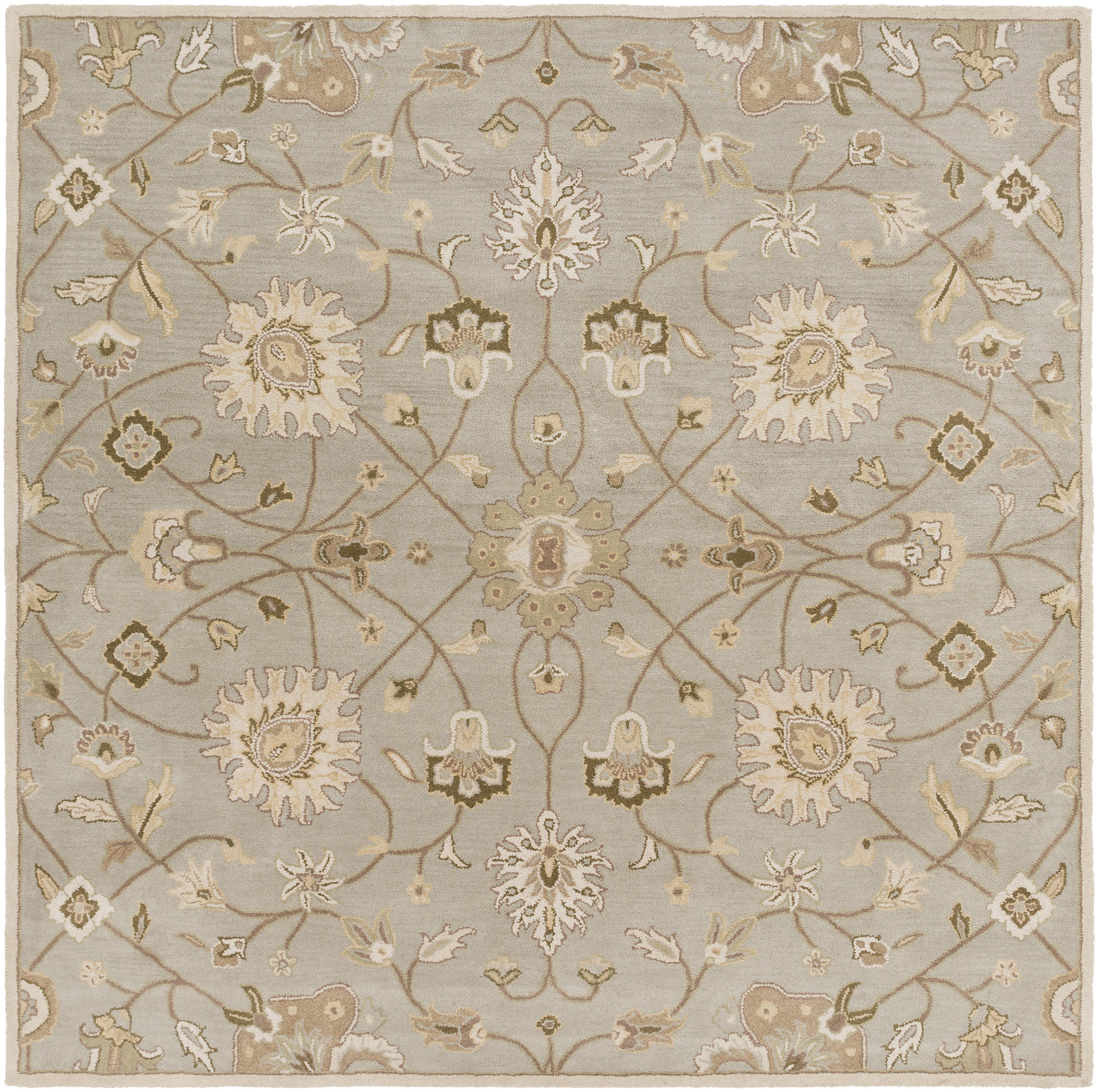 Surya Caesar 8' Square - Item Number: CAE1126-8SQ