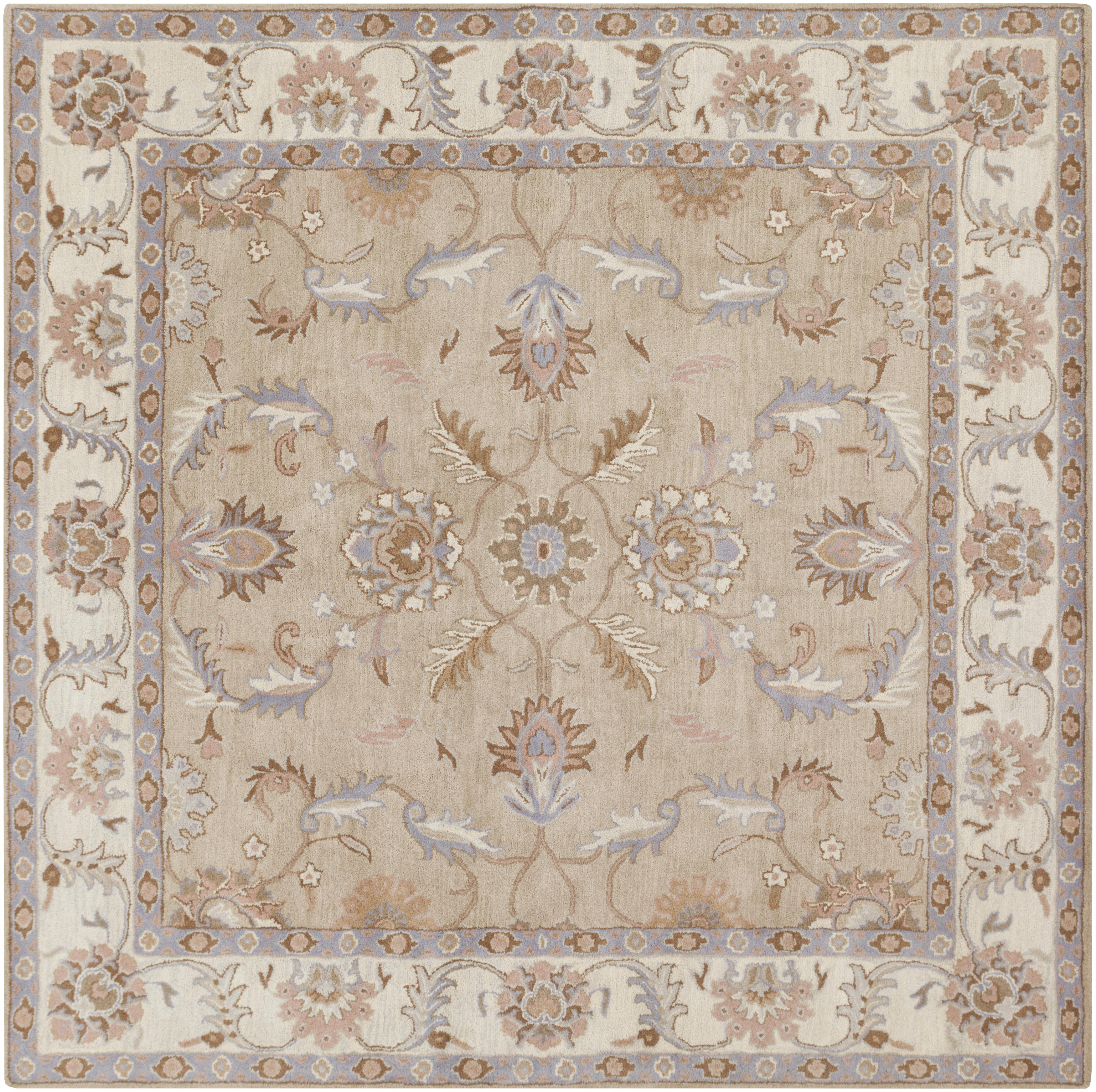 Surya Caesar 8' Square - Item Number: CAE1129-8SQ