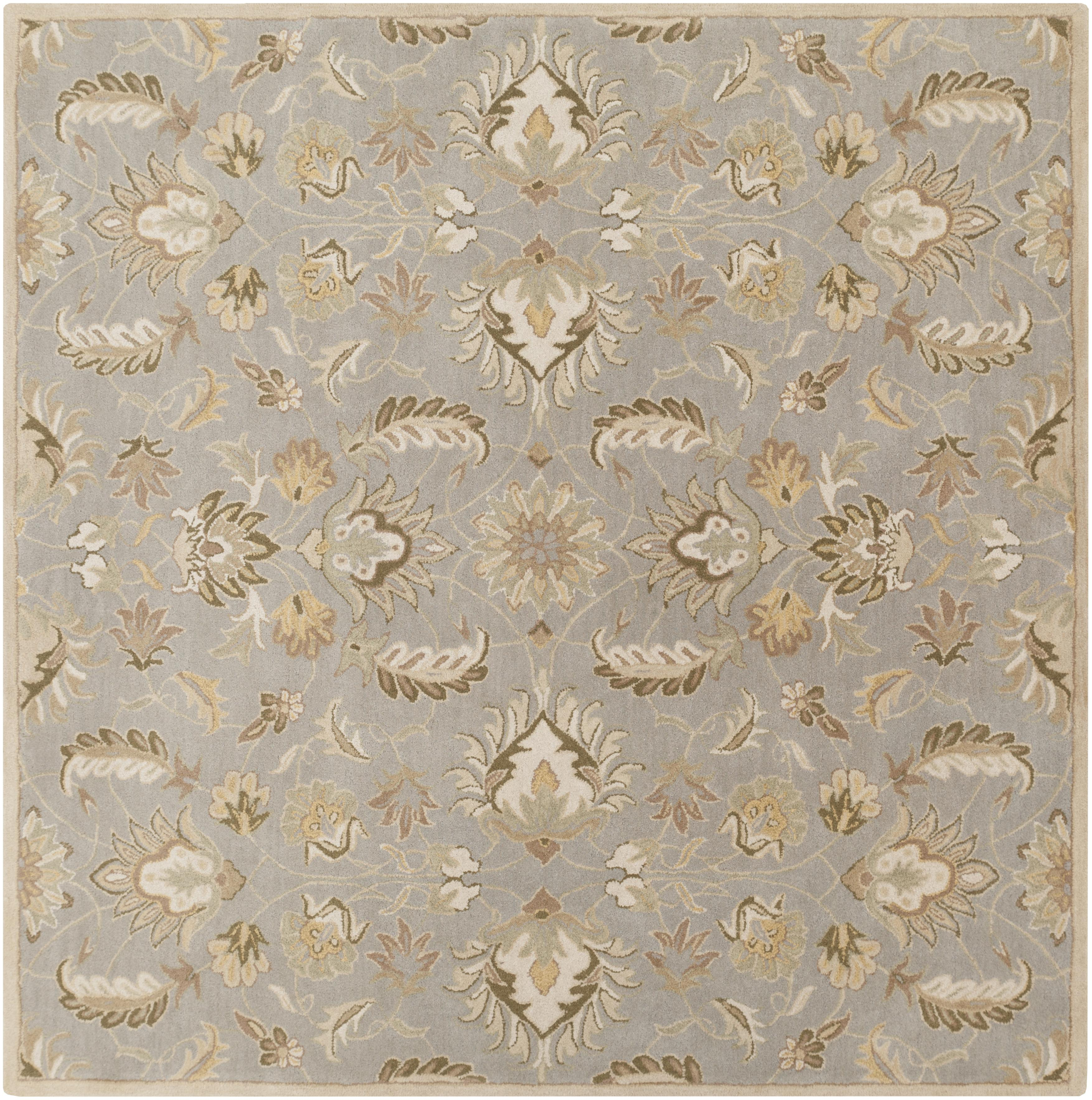 Surya Caesar 8' Square - Item Number: CAE1140-8SQ