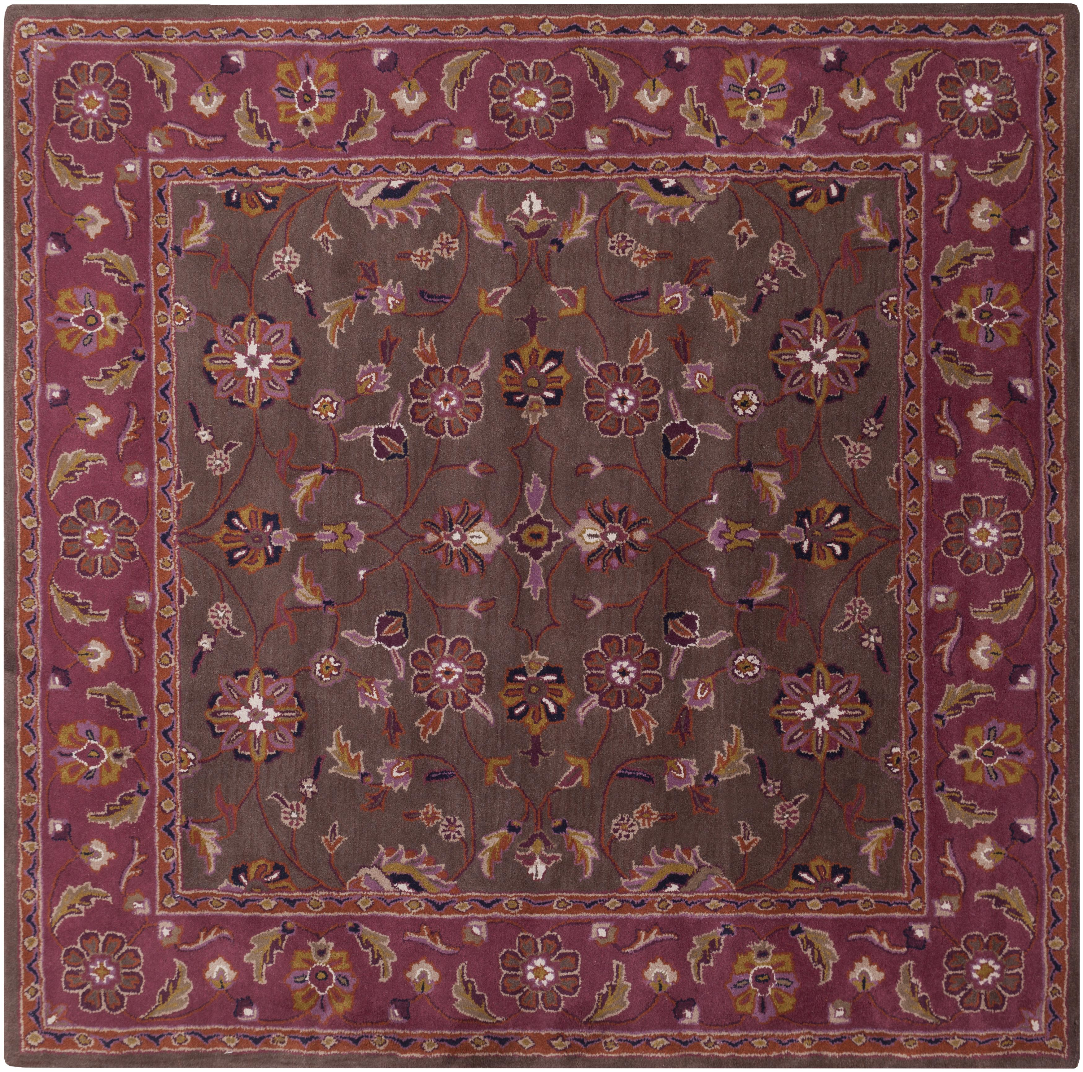 Surya Caesar 4' Square - Item Number: CAE1141-4SQ