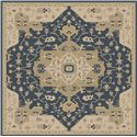 Surya Rugs Caesar 4' Square - Item Number: CAE1145-4SQ
