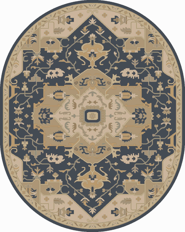 Surya Rugs Caesar 6' x 9' Oval - Item Number: CAE1145-69OV