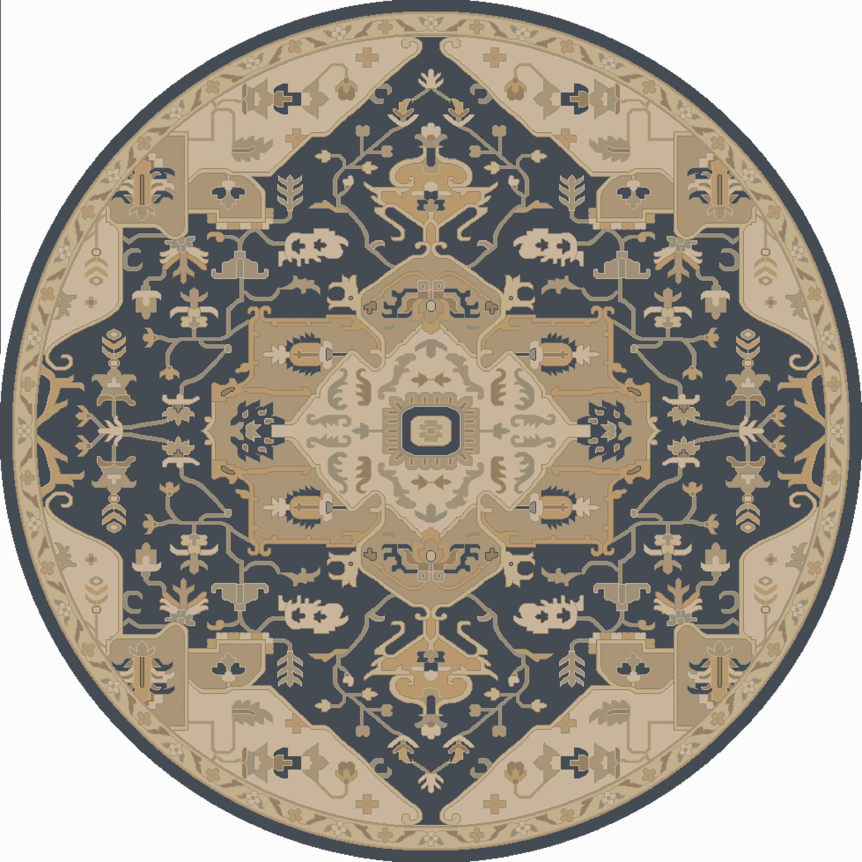Surya Caesar 8' Round - Item Number: CAE1145-8RD