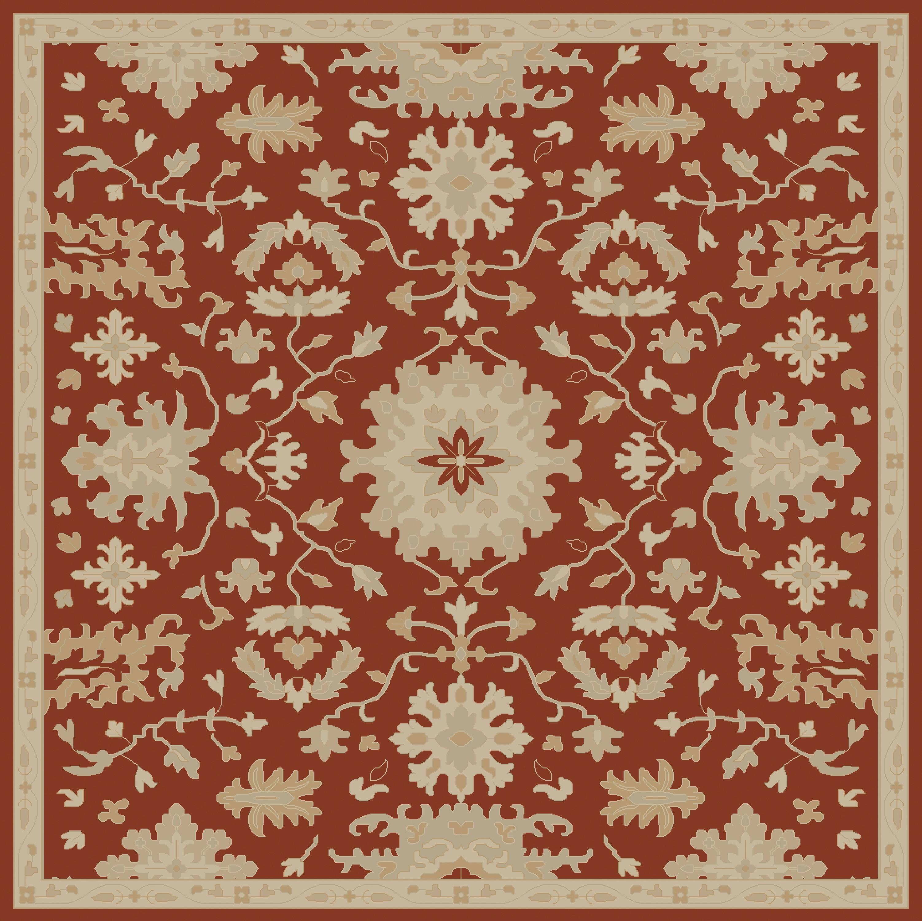 "Surya Caesar 9'9"" Square - Item Number: CAE1148-99SQ"