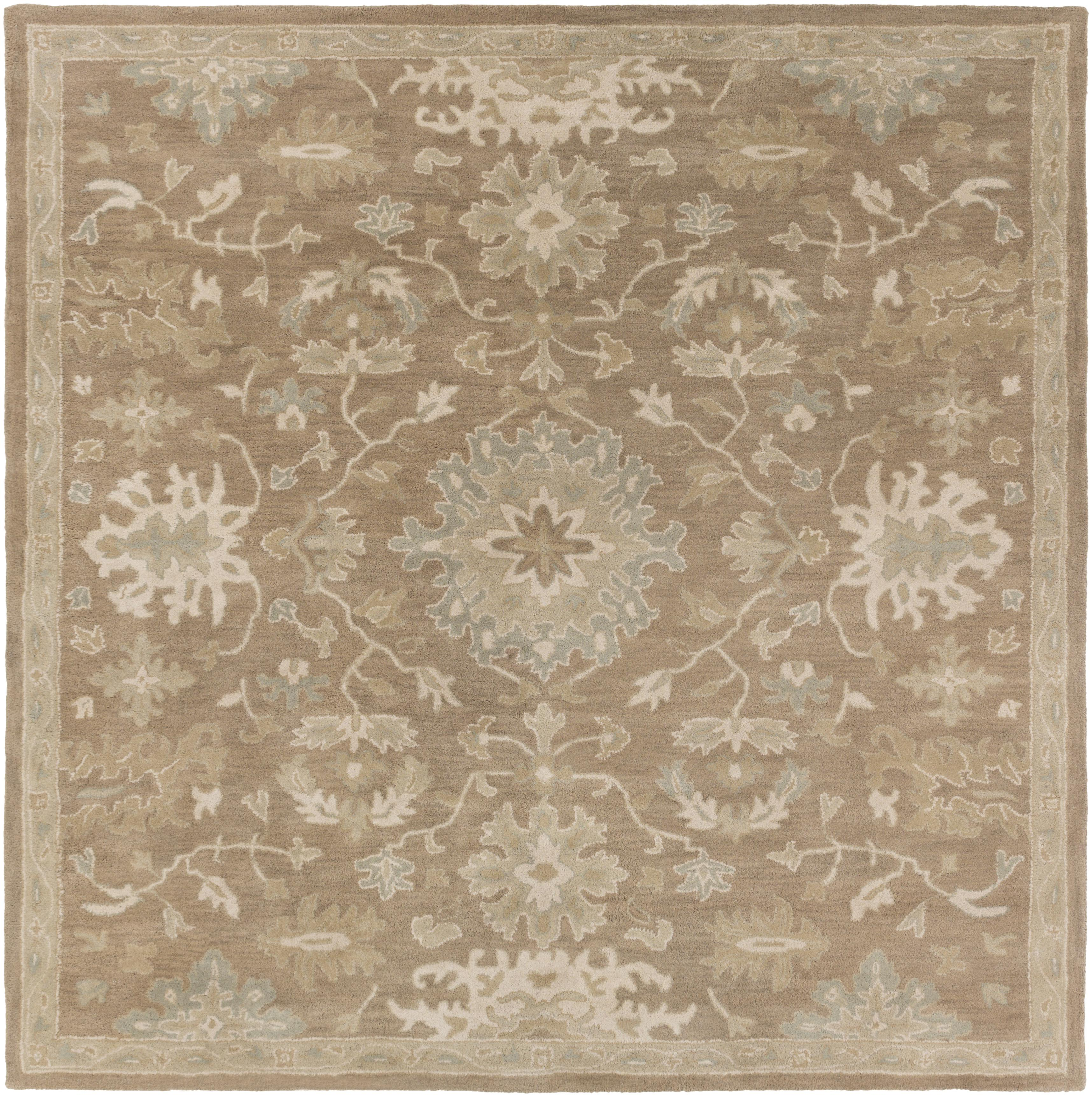 Surya Caesar 4' Square - Item Number: CAE1149-4SQ