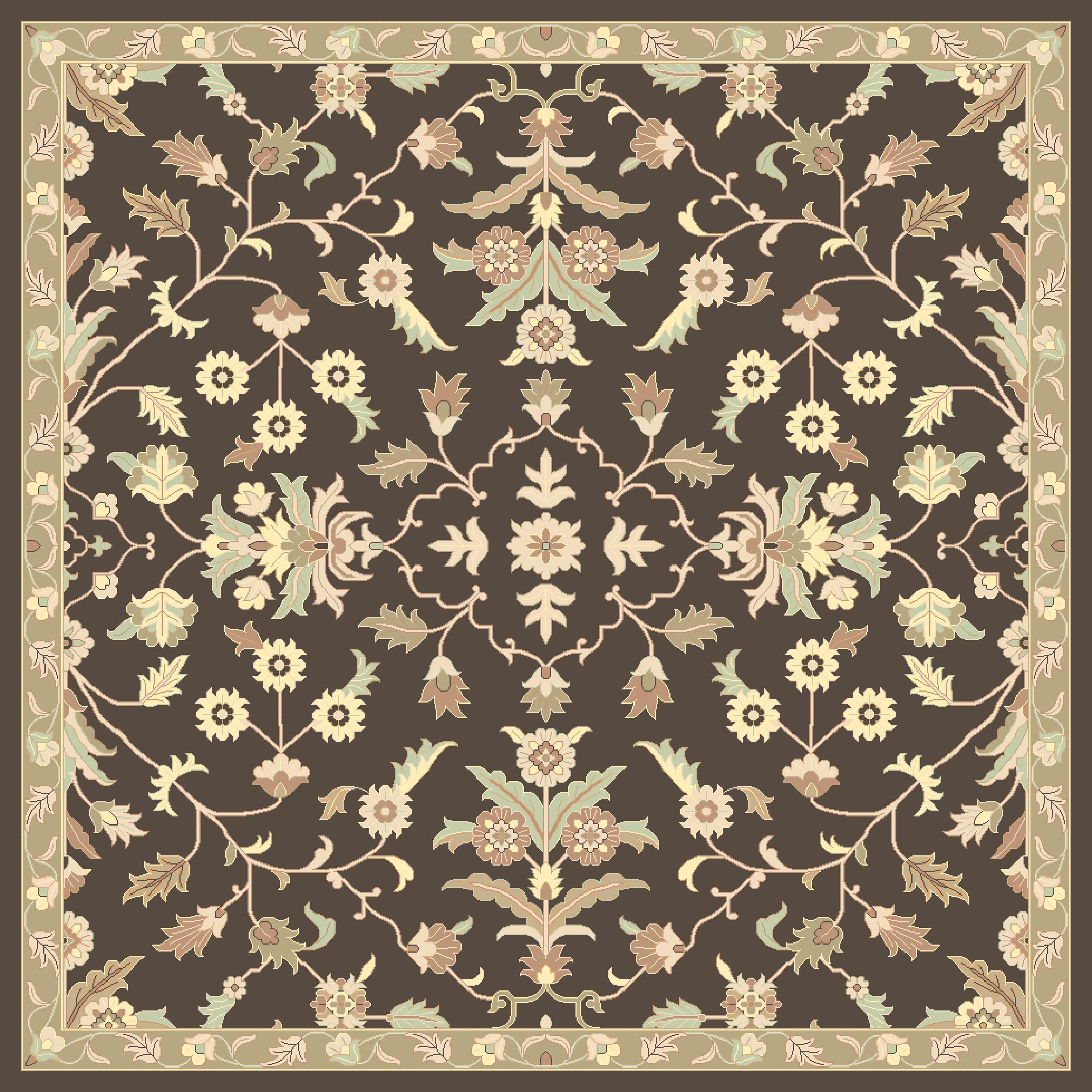 Surya Caesar 4' Square - Item Number: CAE1150-4SQ