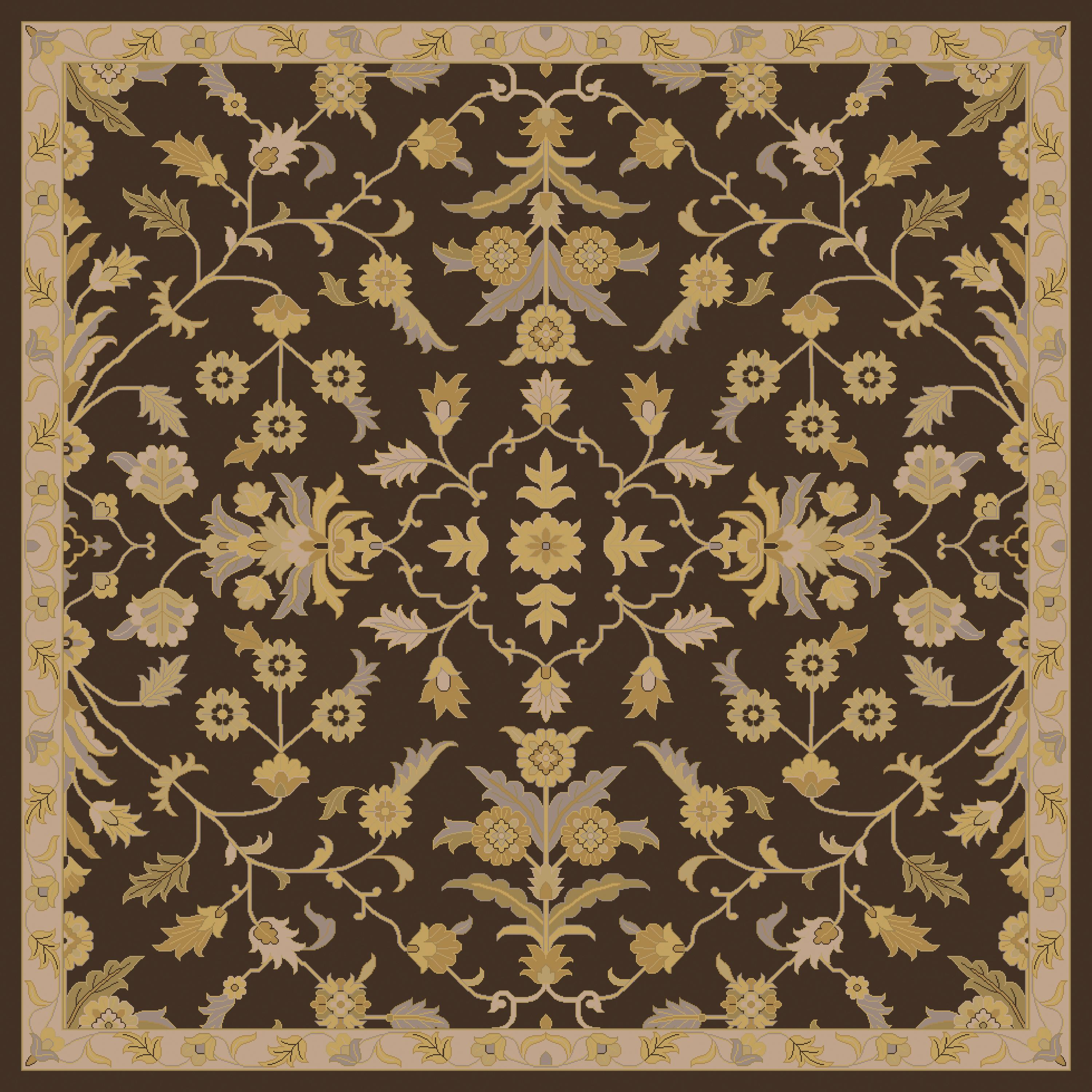 Surya Caesar 4' Square - Item Number: CAE1151-4SQ