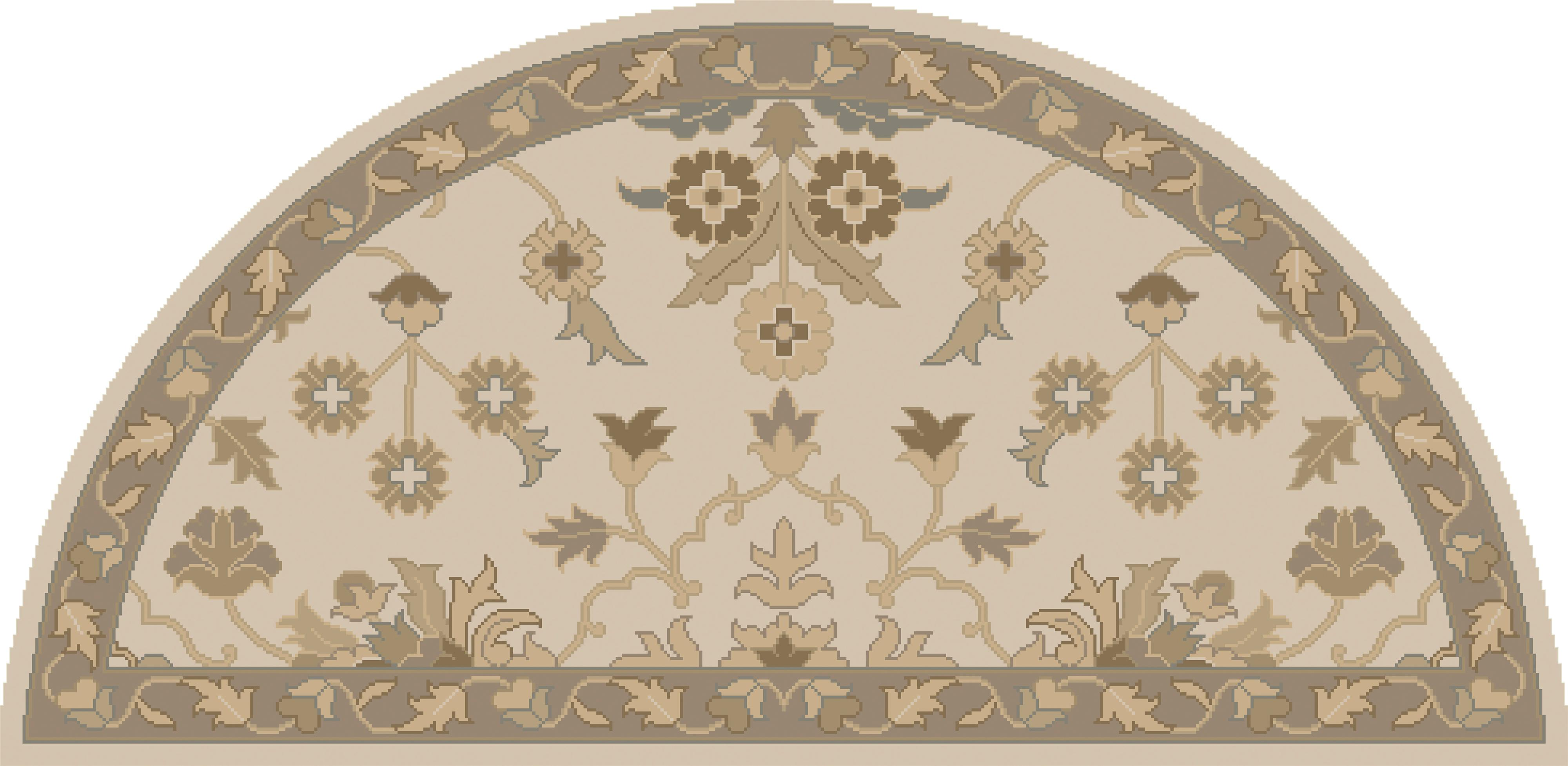 Surya Rugs Caesar 2' x 4' Hearth - Item Number: CAE1152-24HM