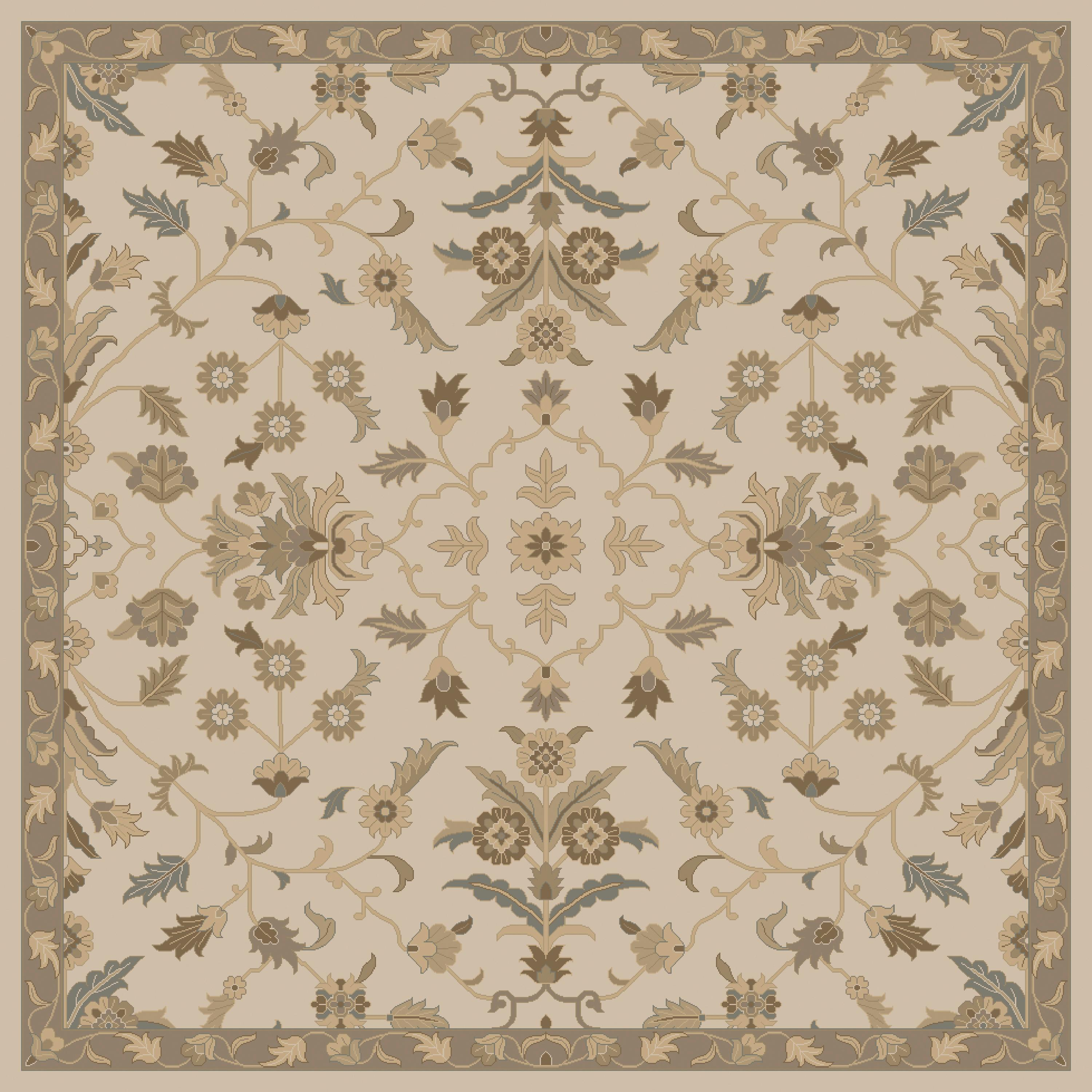 "Surya Caesar 9'9"" Square - Item Number: CAE1152-99SQ"