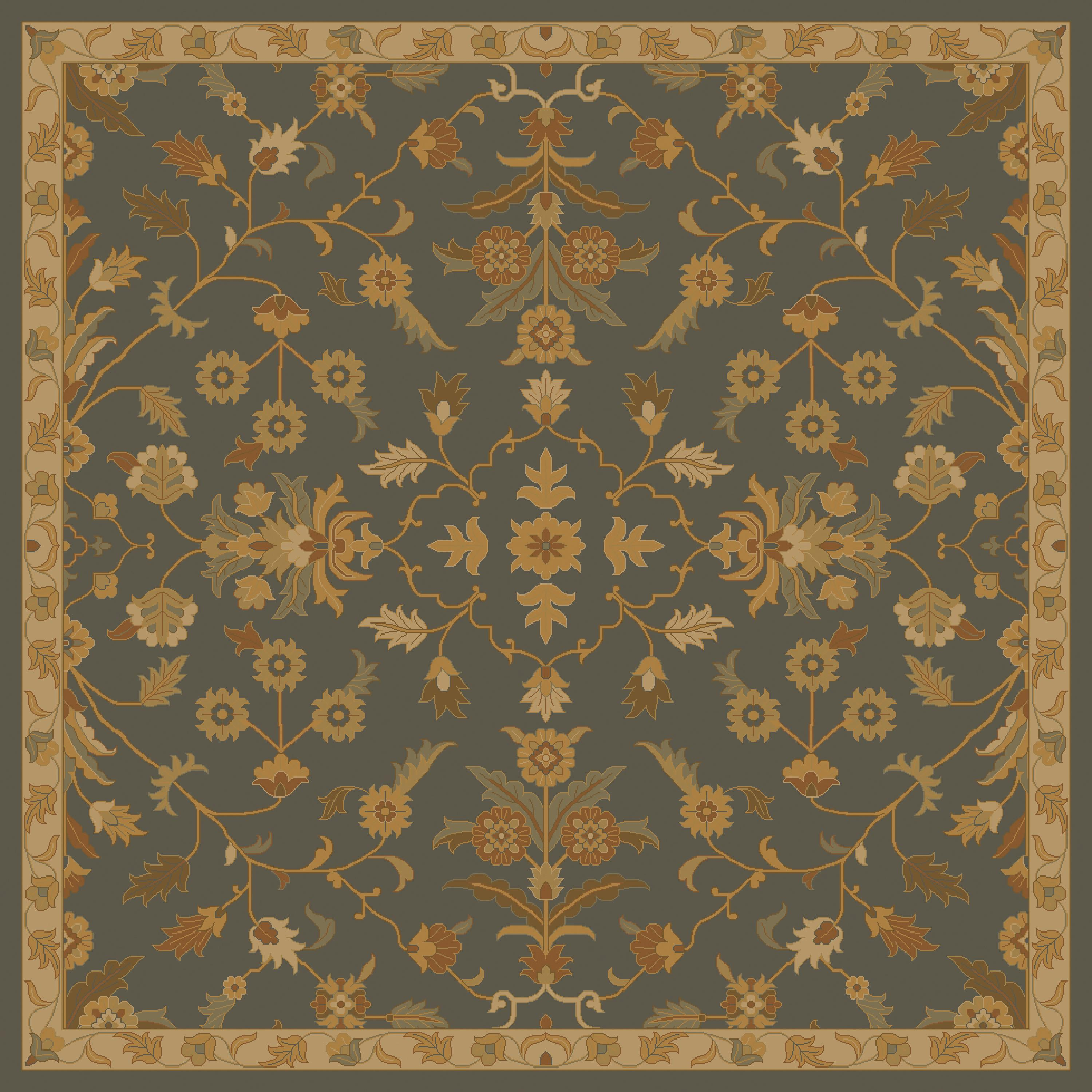 Surya Rugs Caesar 6' Square - Item Number: CAE1153-6SQ