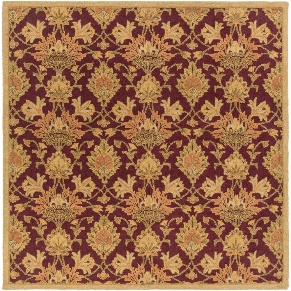 Surya Caesar 8' Square - Item Number: CAE1155-8SQ