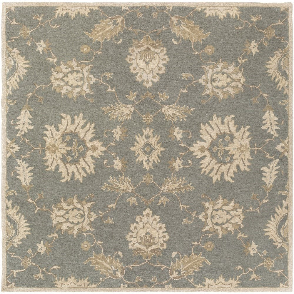 Surya Caesar 6' Square - Item Number: CAE1156-6SQ