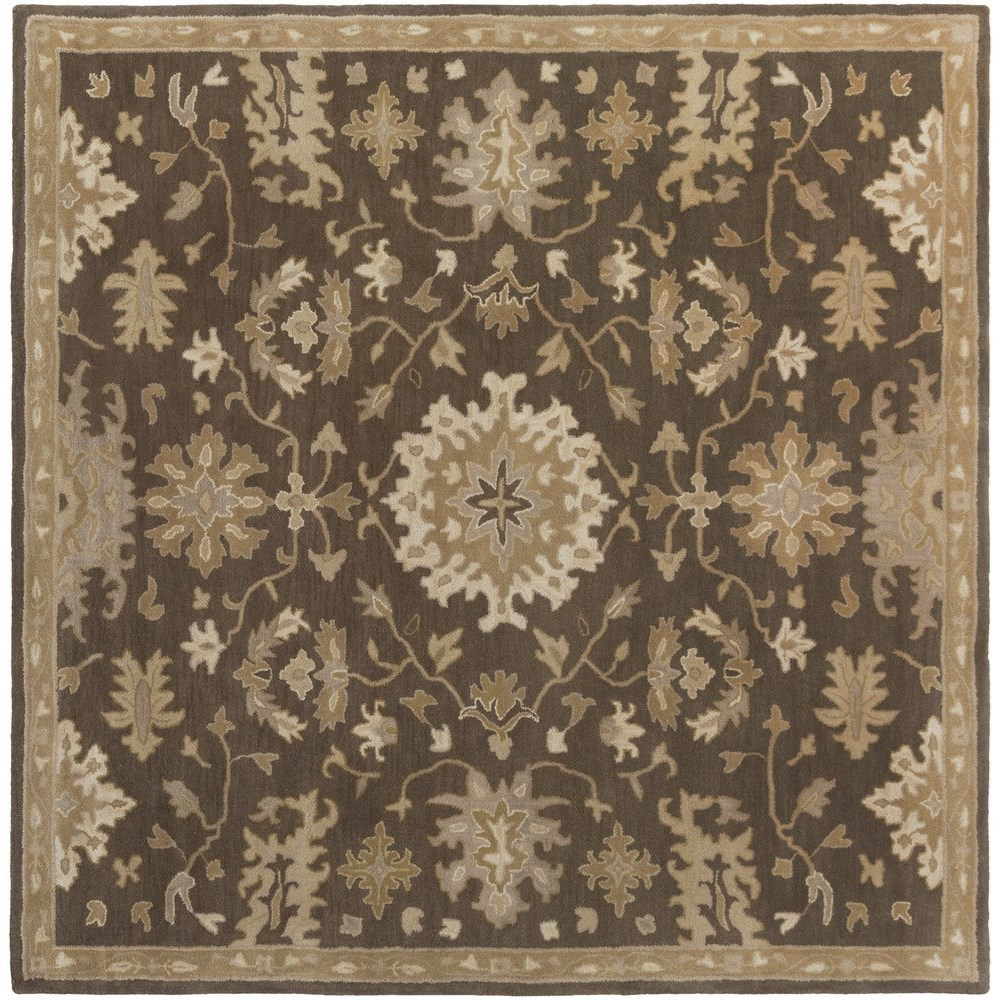 Surya Caesar 4' Square - Item Number: CAE1158-4SQ