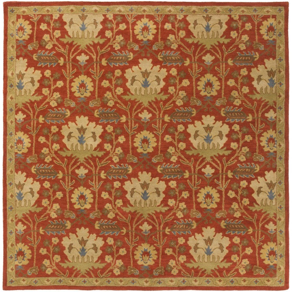 Surya Rugs Caesar 8' Square - Item Number: CAE1159-8SQ